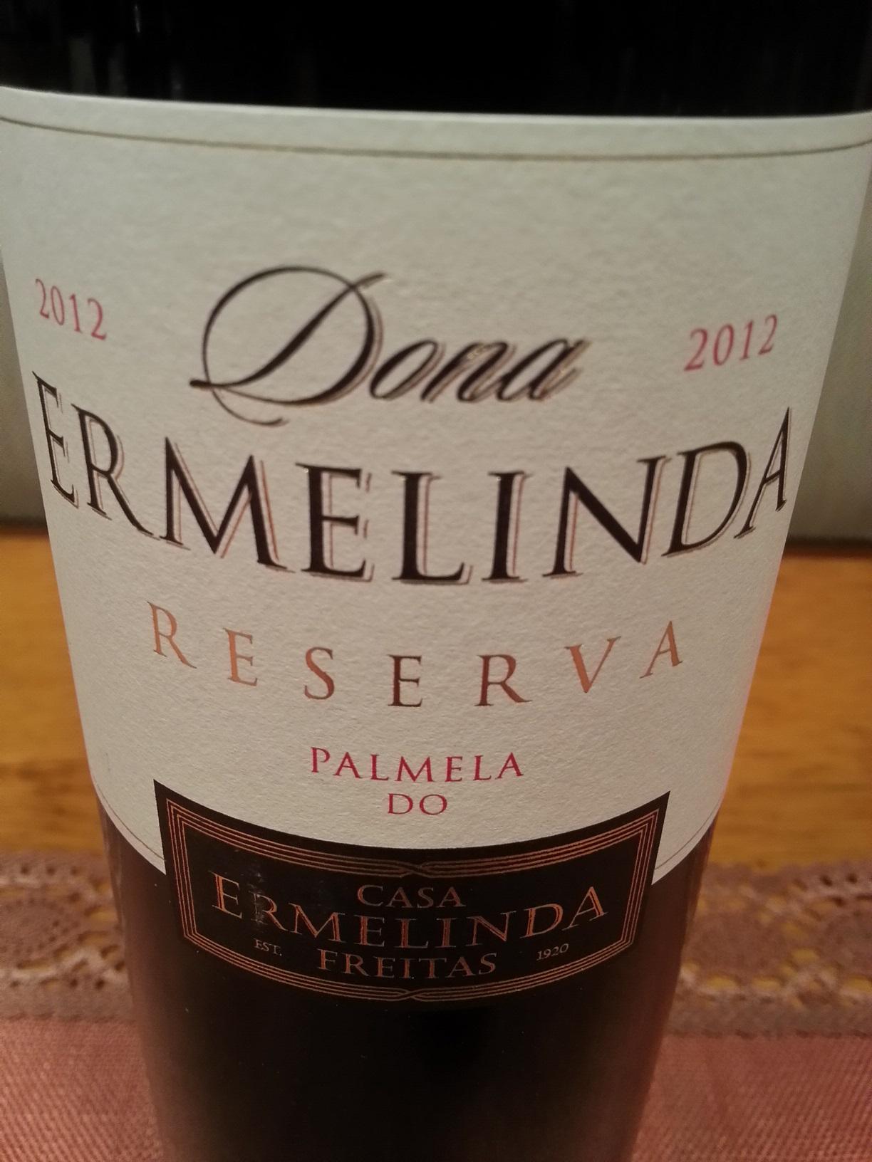 2012 Dona Ermelinda Reserva | Ermelinda Freitas