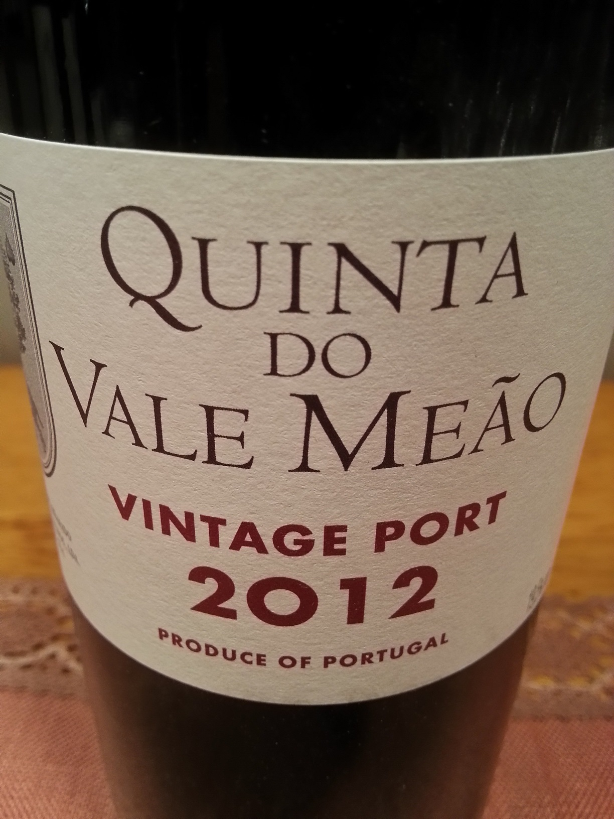 2012 Vintage Port | Quinta do Vale Meão