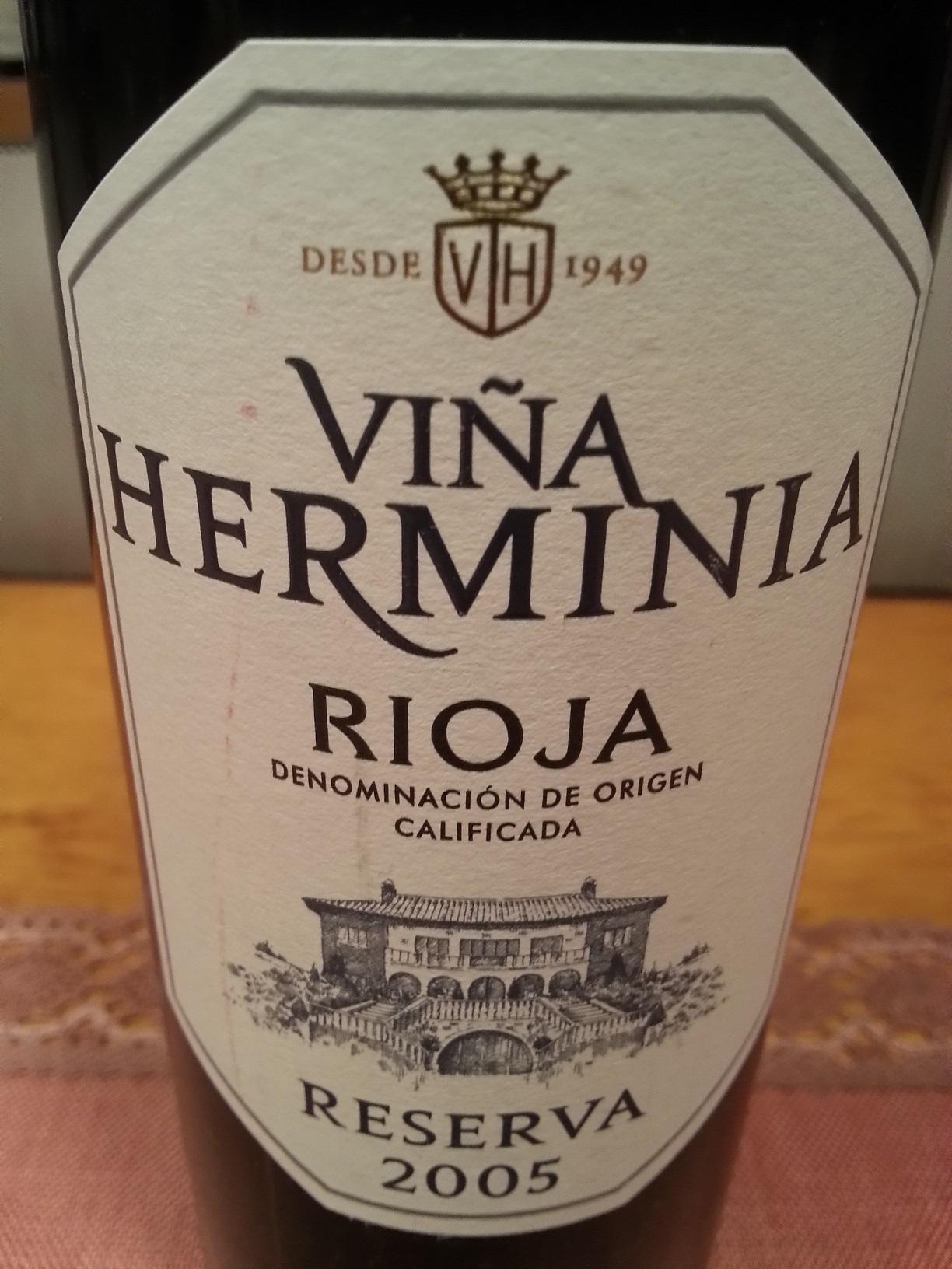 2005 Viña Herminia Reserva | Viña Herminia
