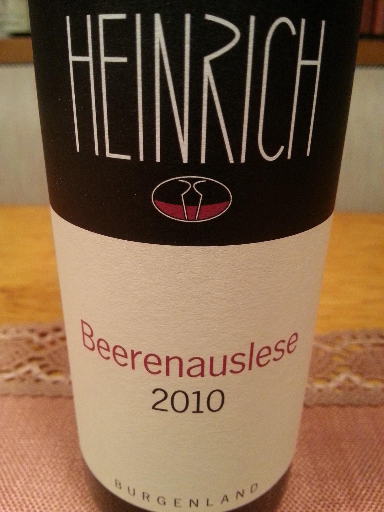 2010 Beerenauslese | G. Heinrich