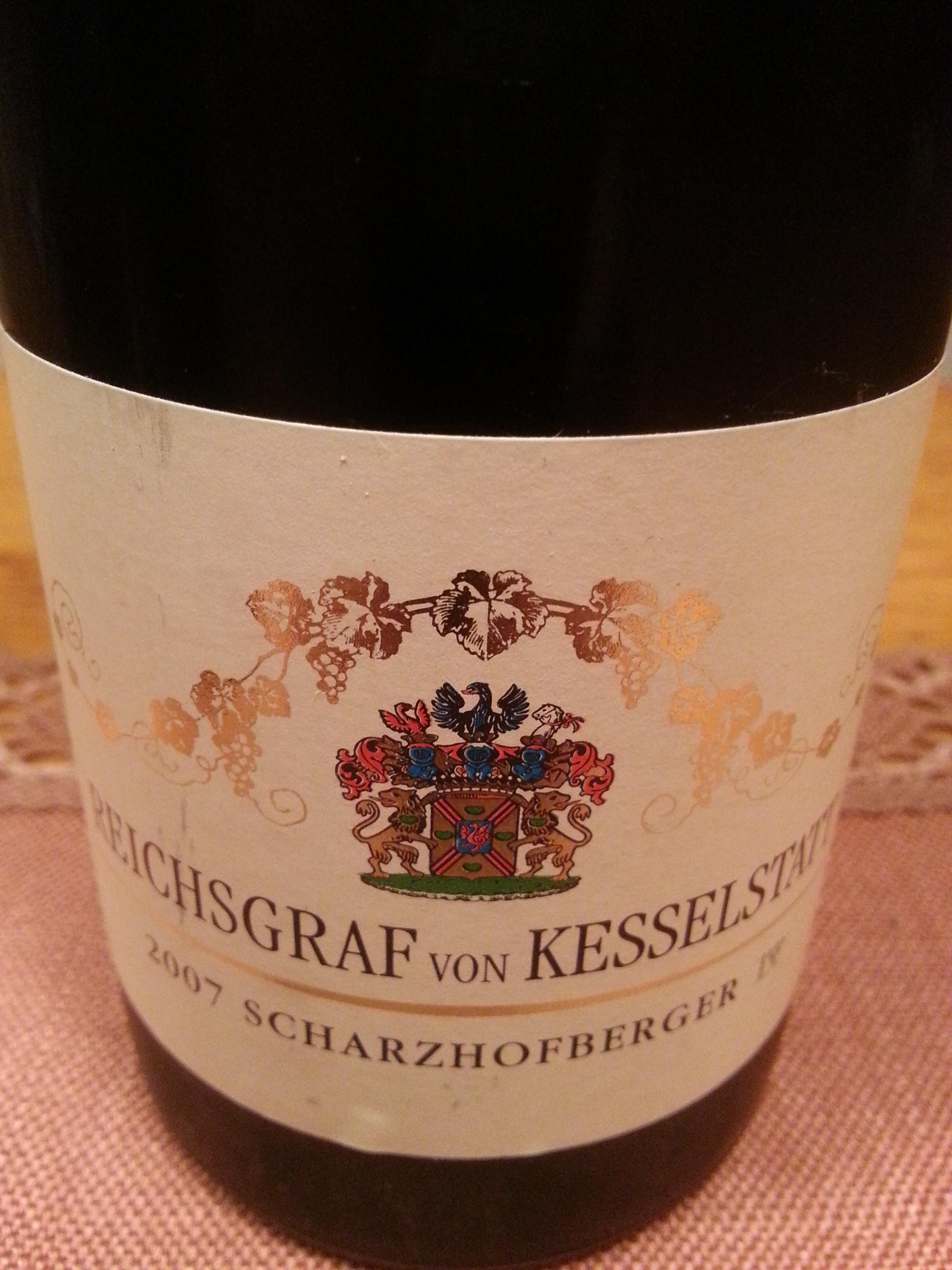 2007 Riesling Scharzhofberger 1.G |  Reichsgraf von Kesselstatt