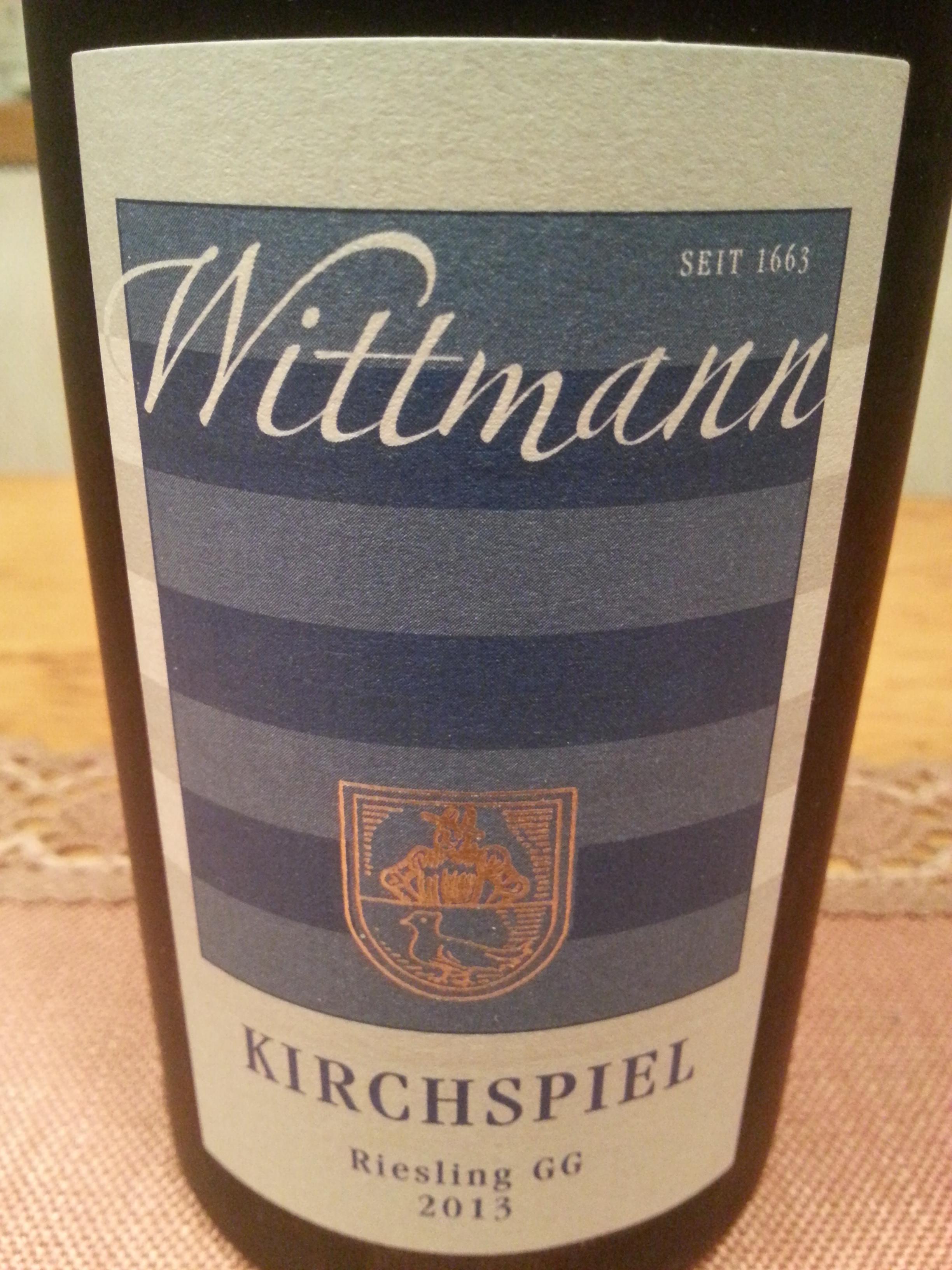 2013 Riesling Kirchspiel GG | Wittmann