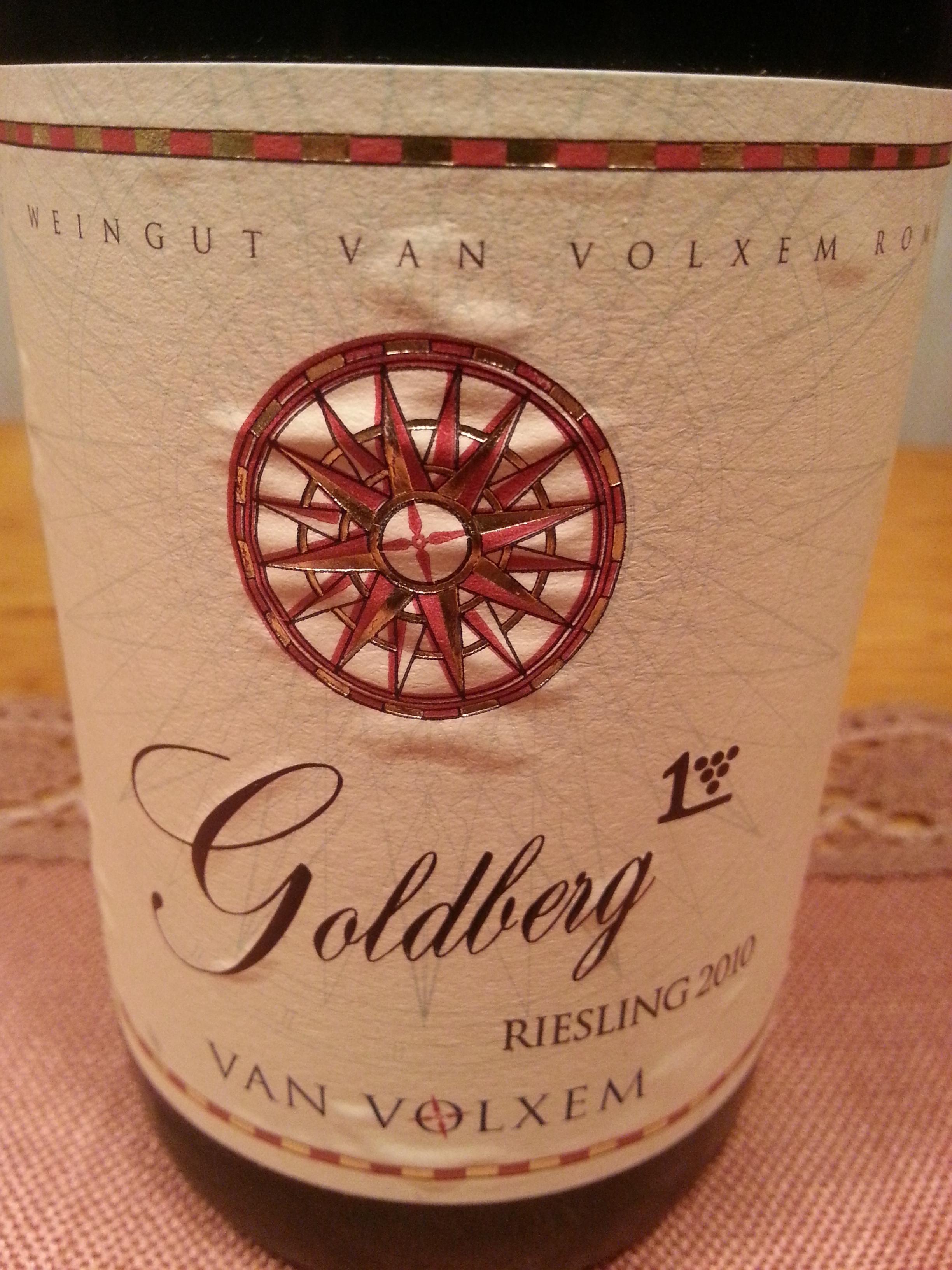 2010 Riesling Goldberg 1. L | Van Volxem