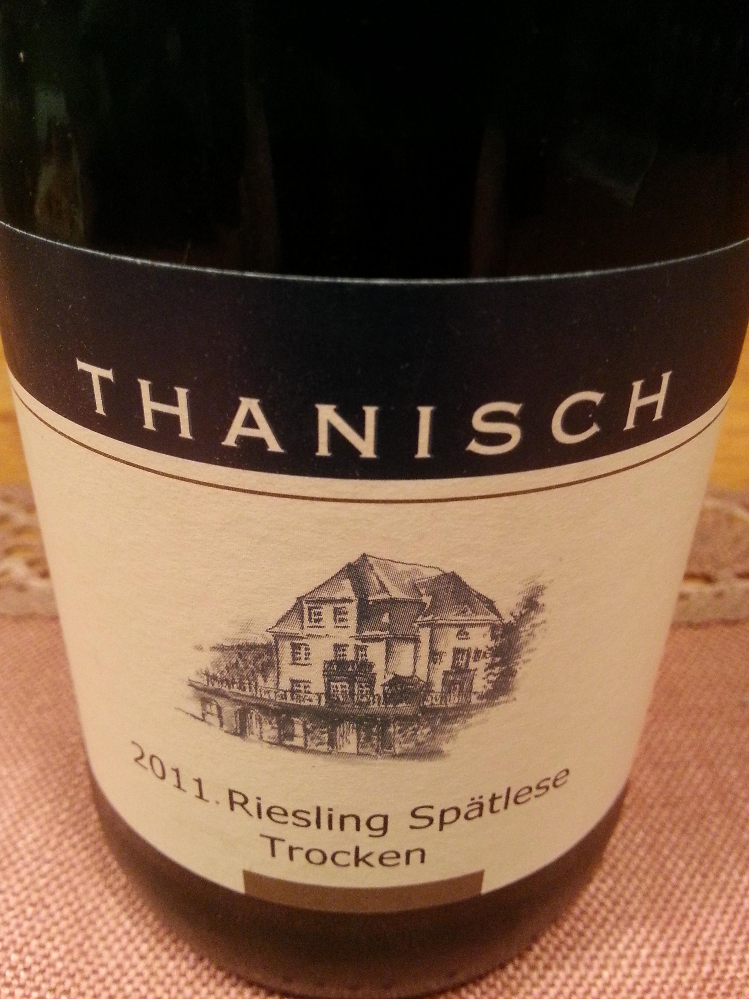 2011 Riesling Spätlese trocken | Thanisch