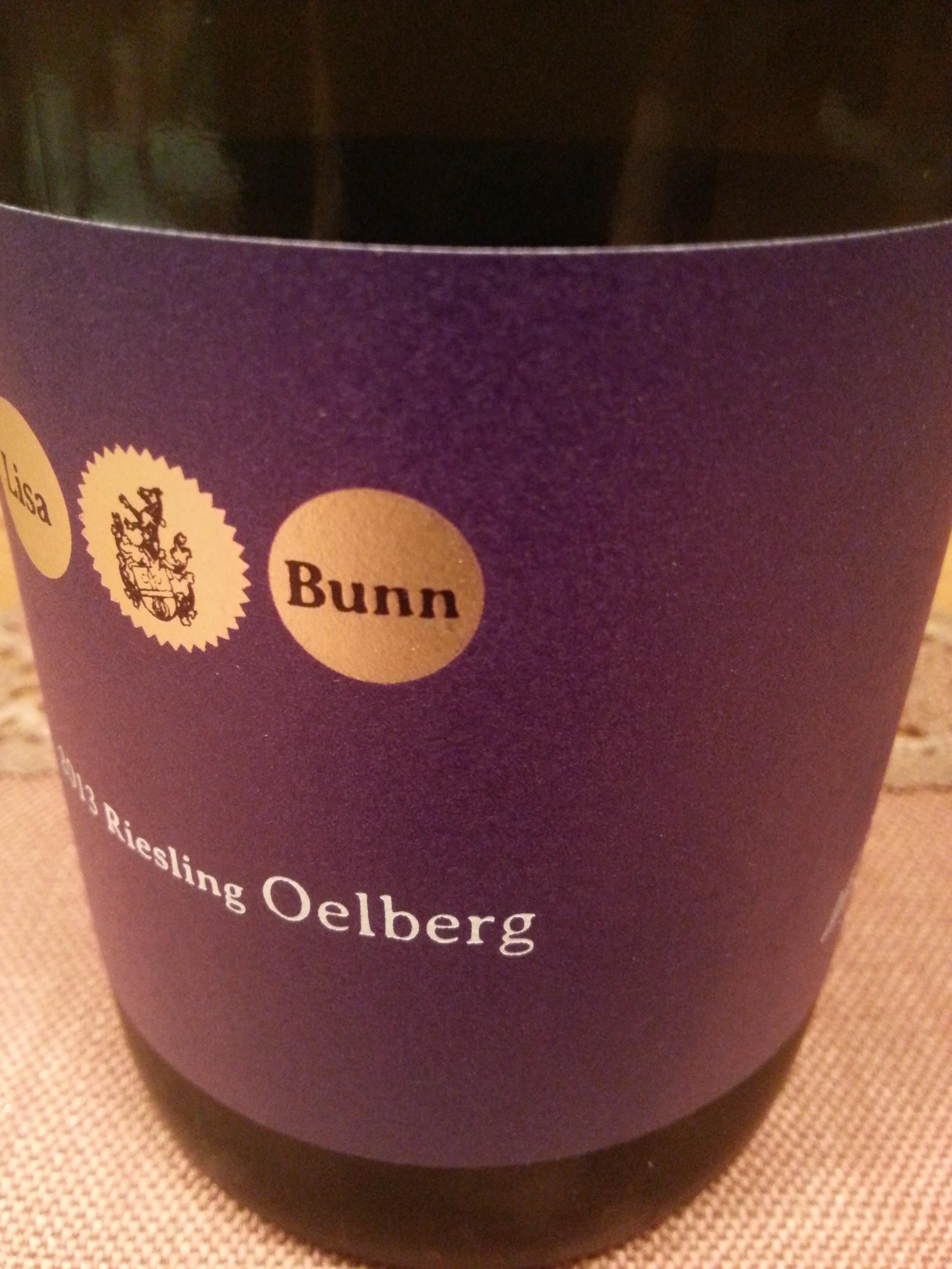 2013 Riesling Oelberg | Lisa Bunn