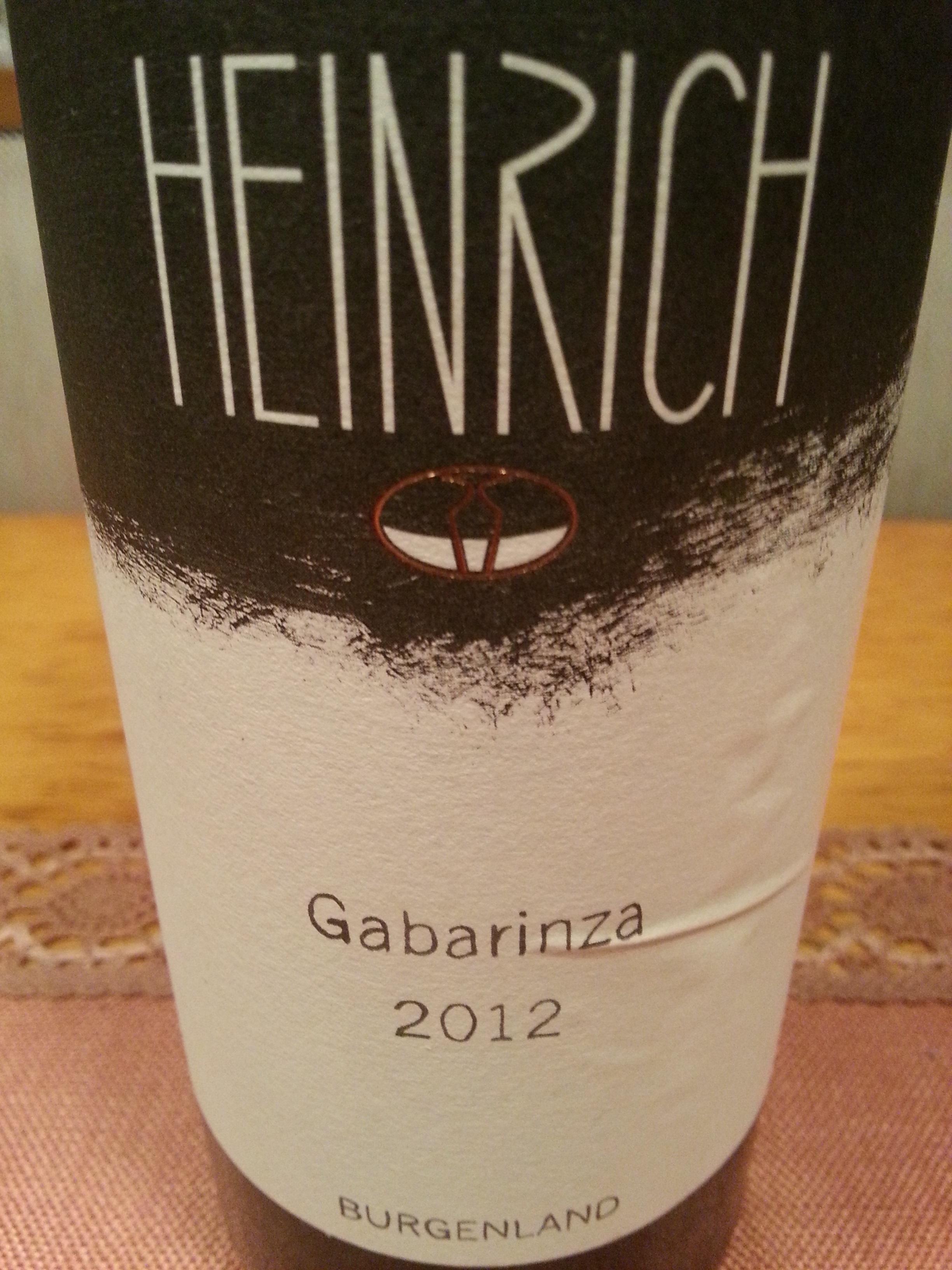2012 Gabarinza | G. Heinrich
