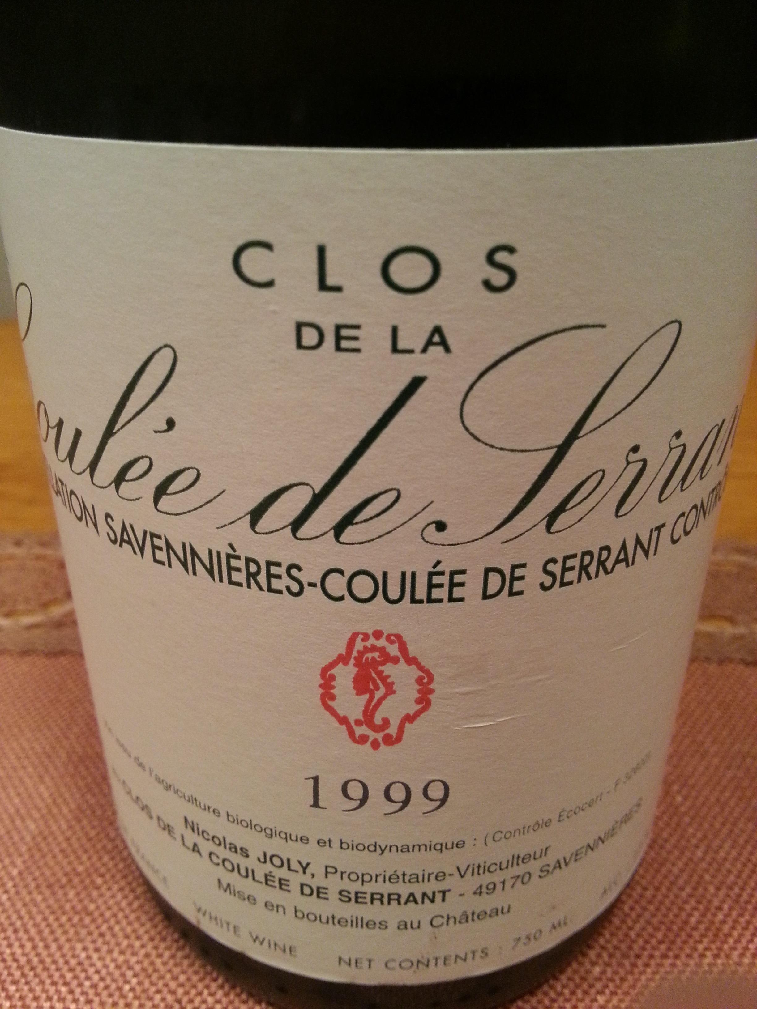1999 Coulée de Serrant | Joly