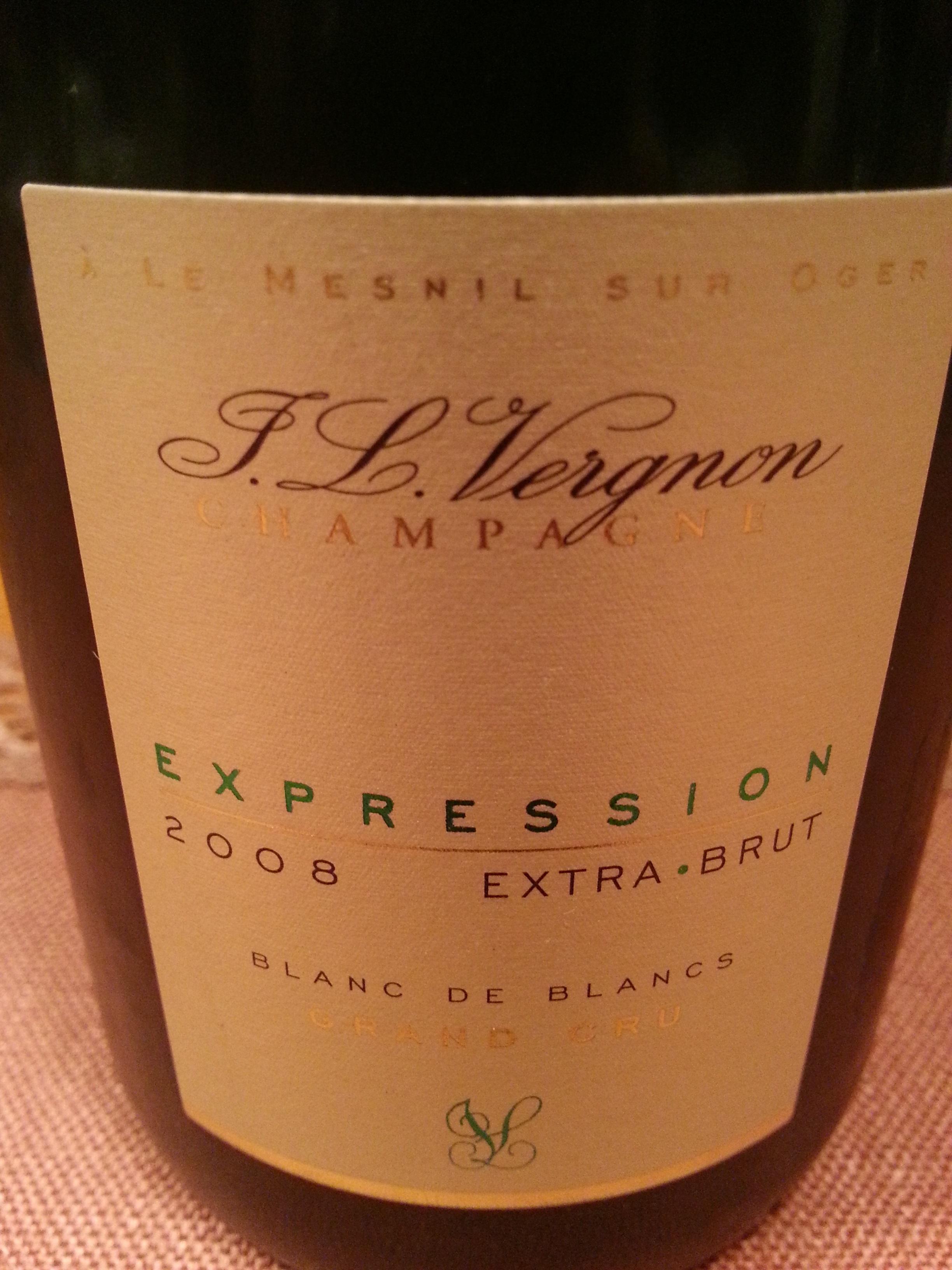 2008 Champagne Expression EB BdB | J. L. Vergnon
