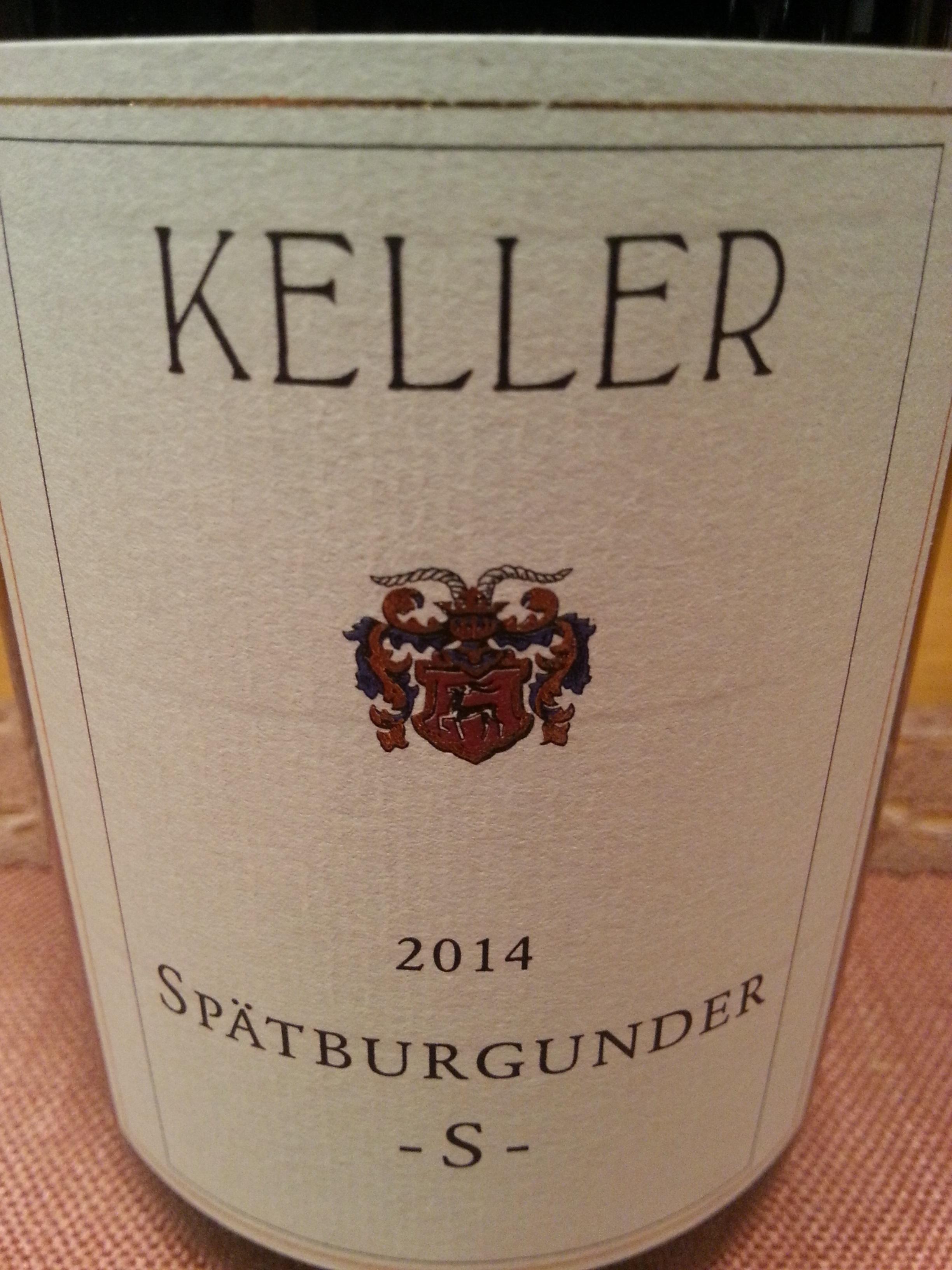 2014 Spätburgunder S | Keller