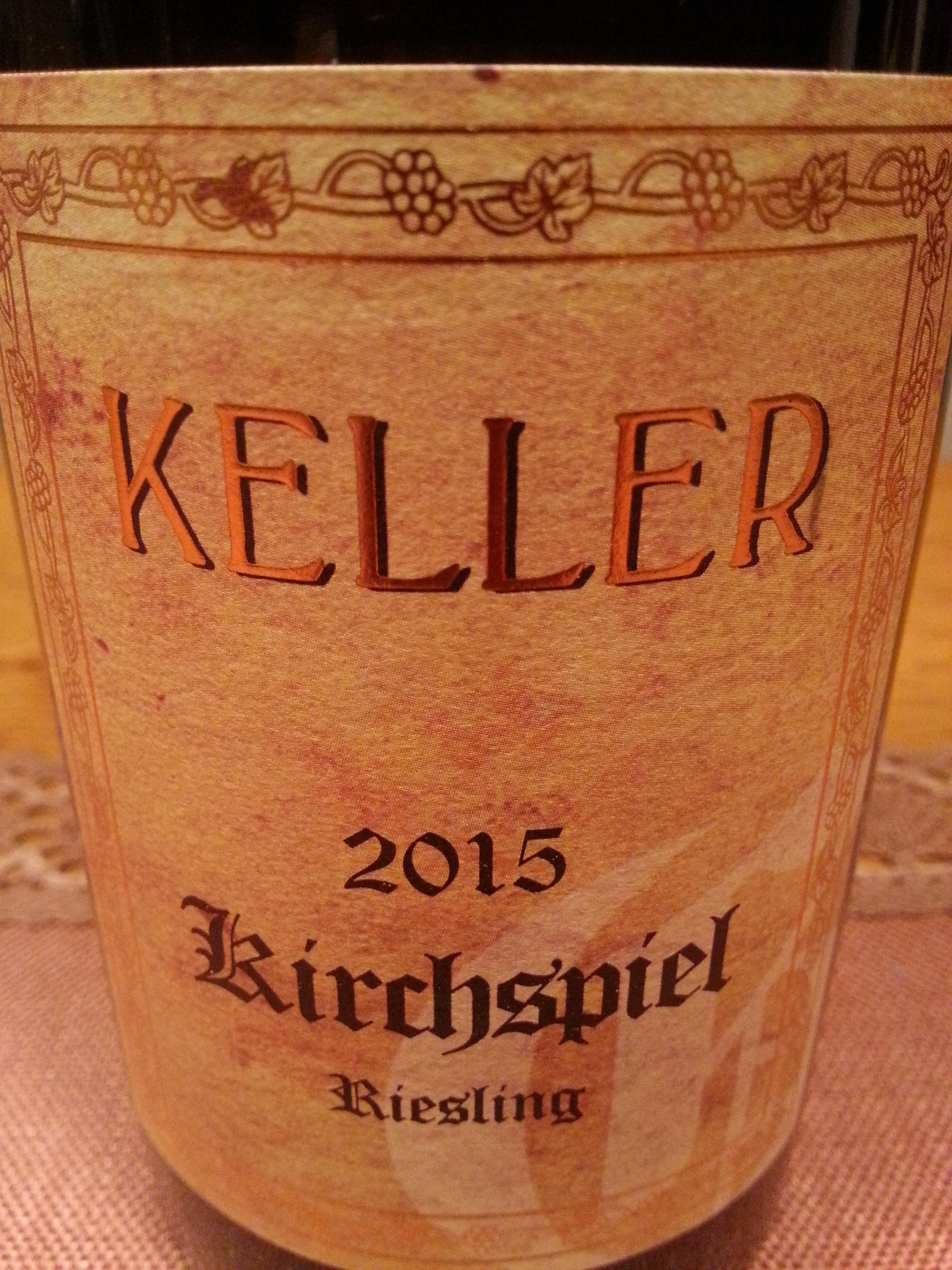 2015 Riesling Kirchspiel GG | Keller