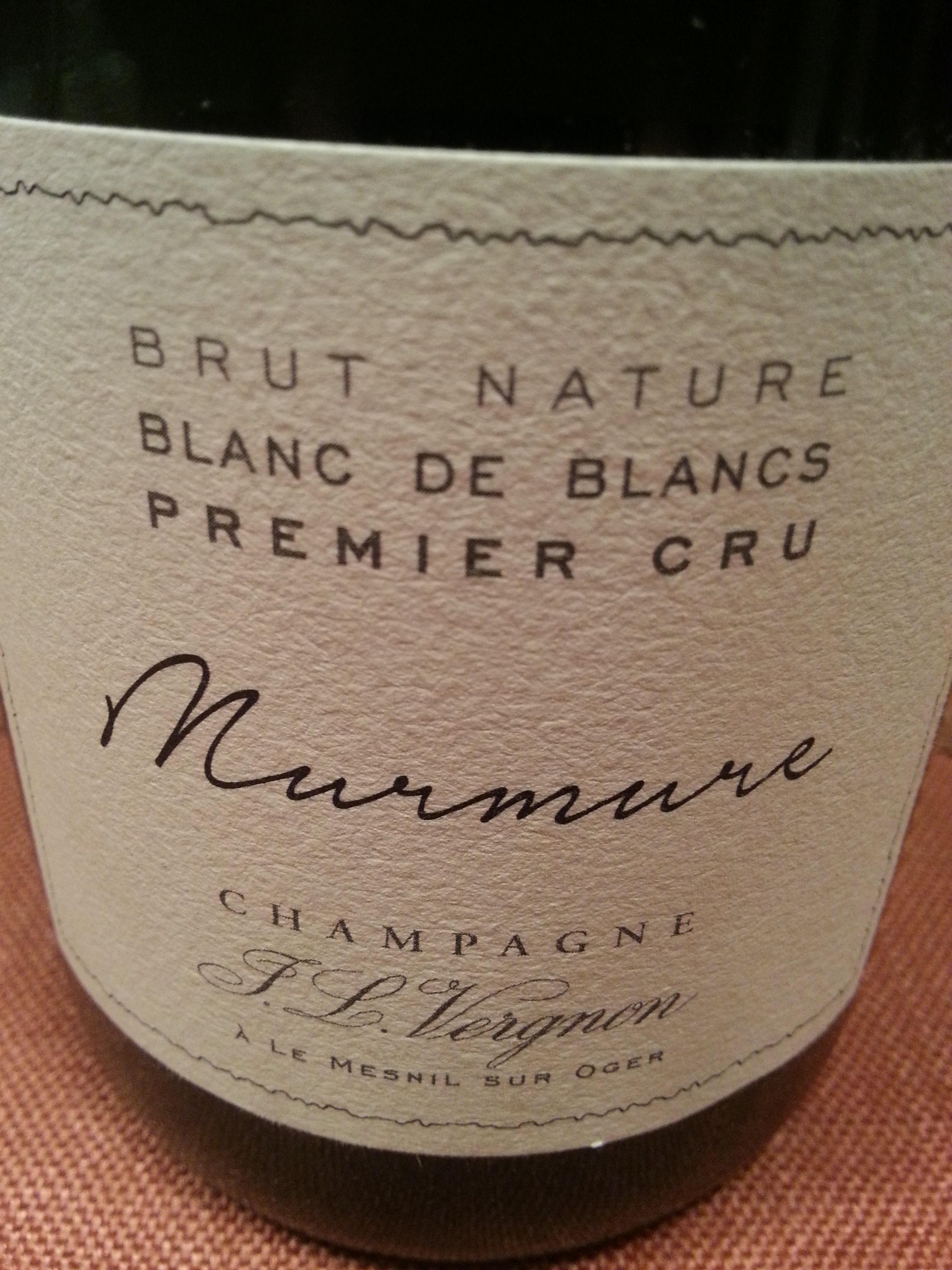 -nv- Champagne Murmure BN BdB | J. L. Vergnon