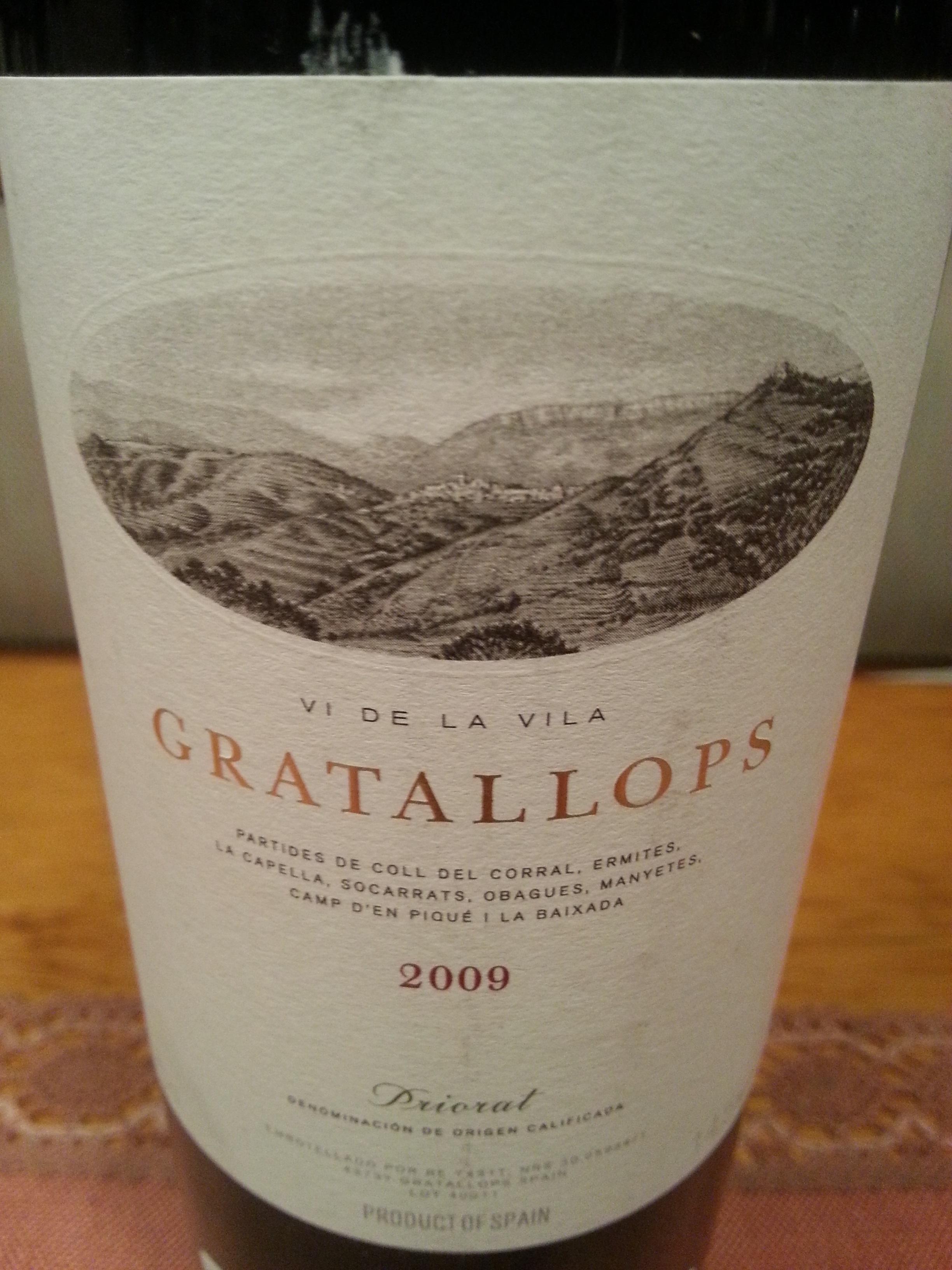 2009 Gratallops | Palacios