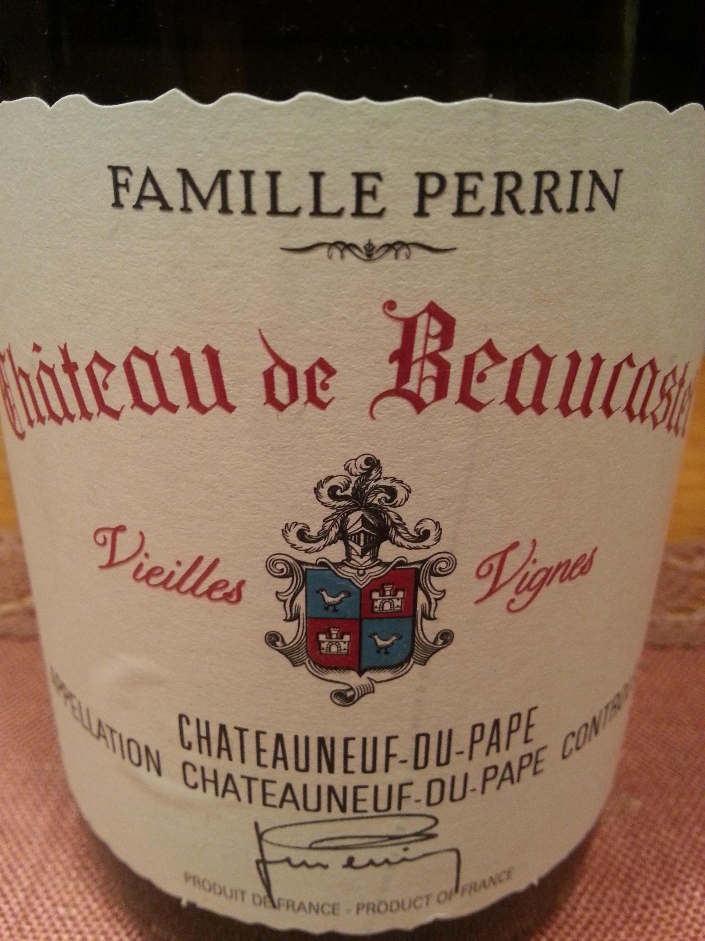 2012 Roussanne Vieilles Vignes | Beaucastel