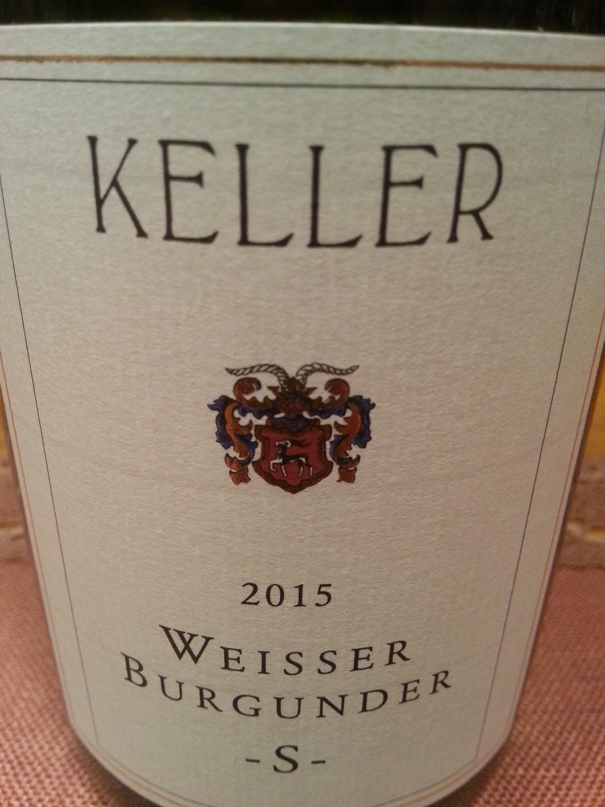 2015 Weißer Burgunder S | Keller