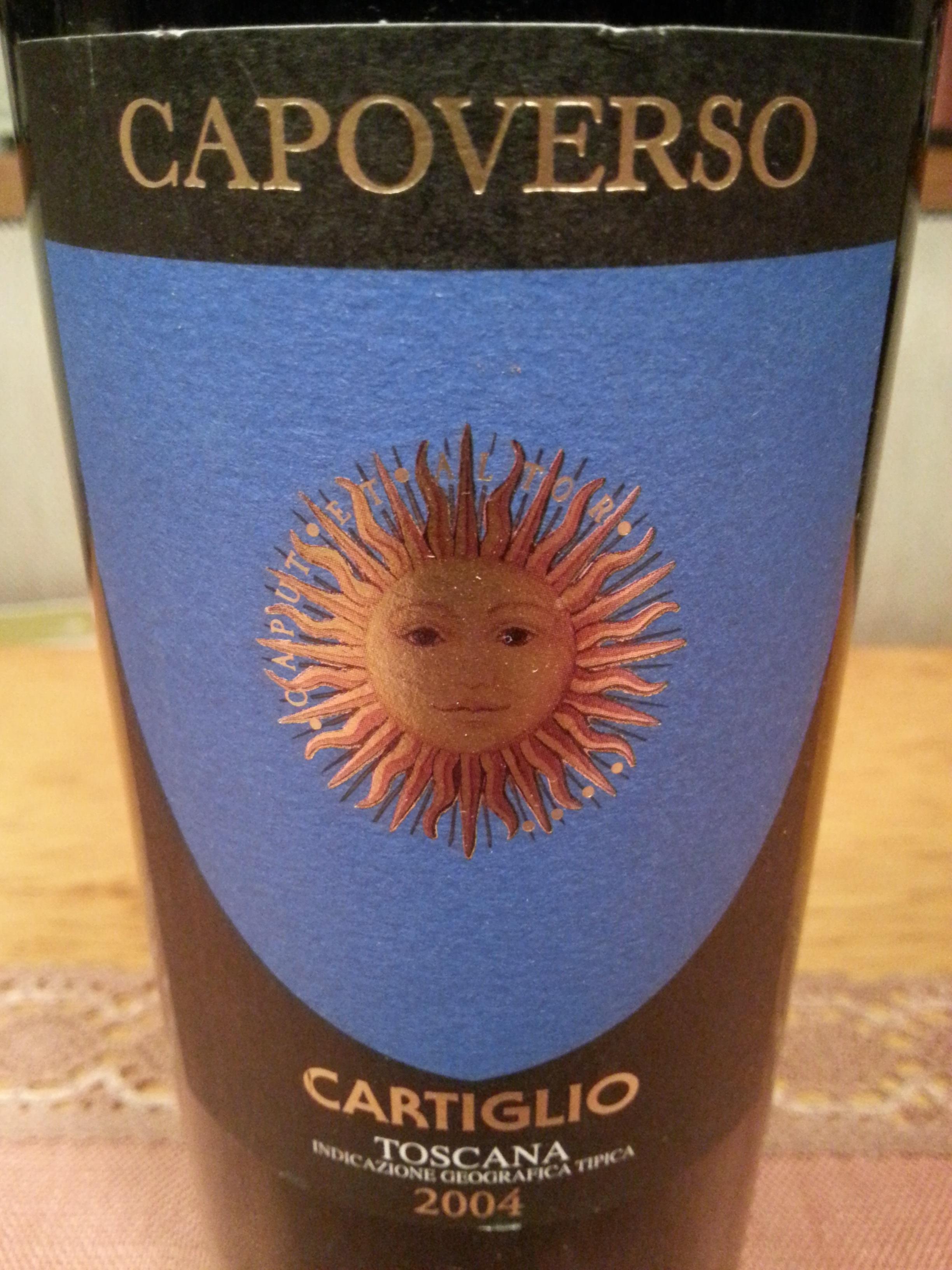 2004 Capoverso | Cartiglio