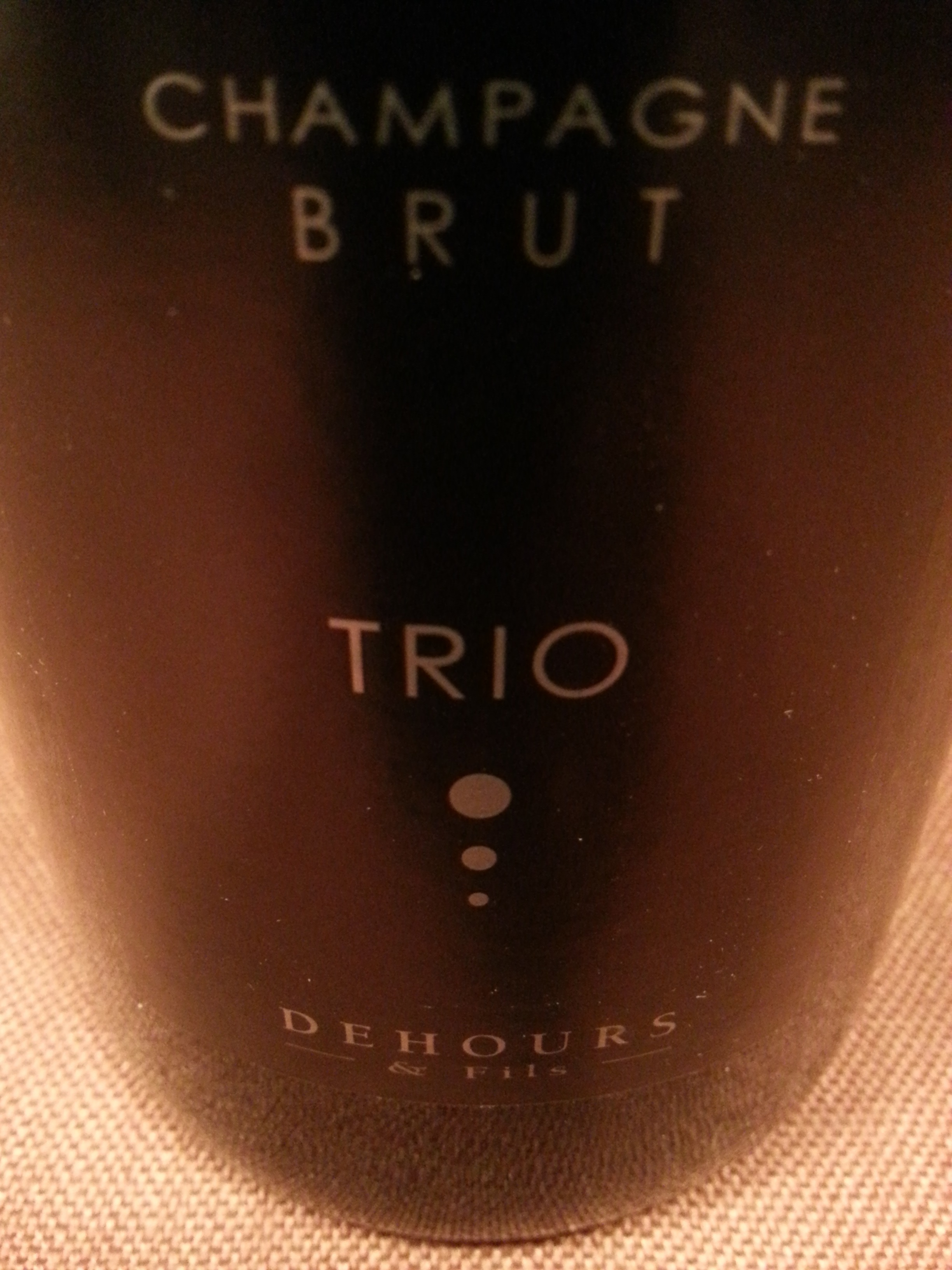 2010 Champagne Trio S Extra Brut | Dehours