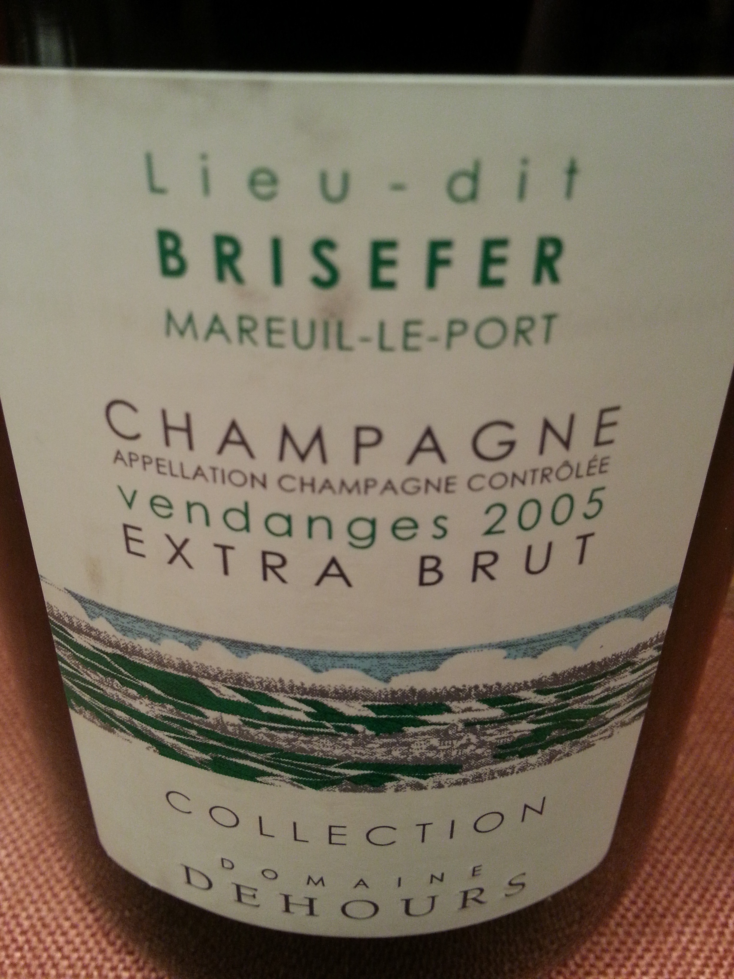 2005 Champagne Brisefer | Dehours
