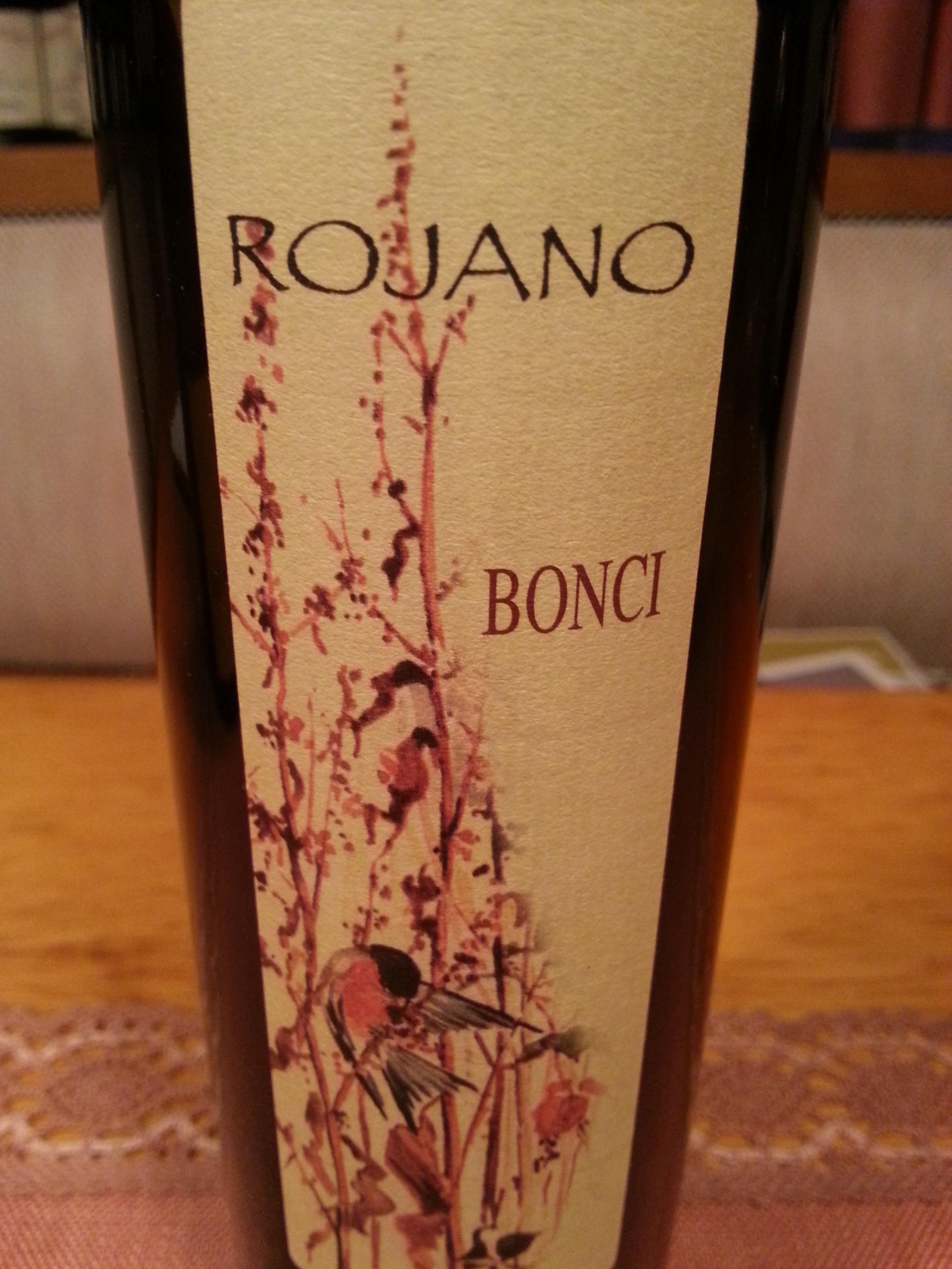 2007 Passito Rojano | Bonci