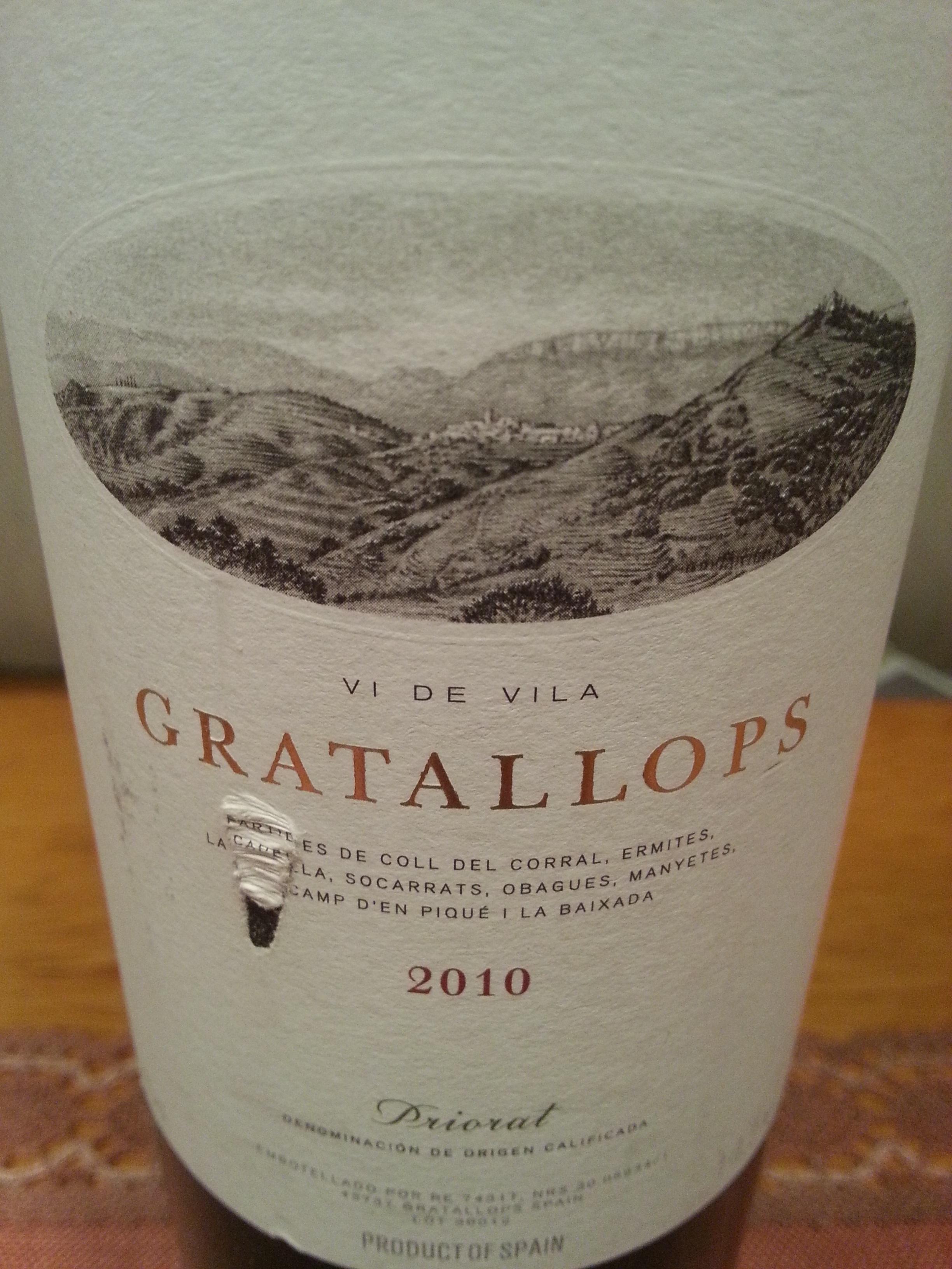 2010 Gratallops | Palacios