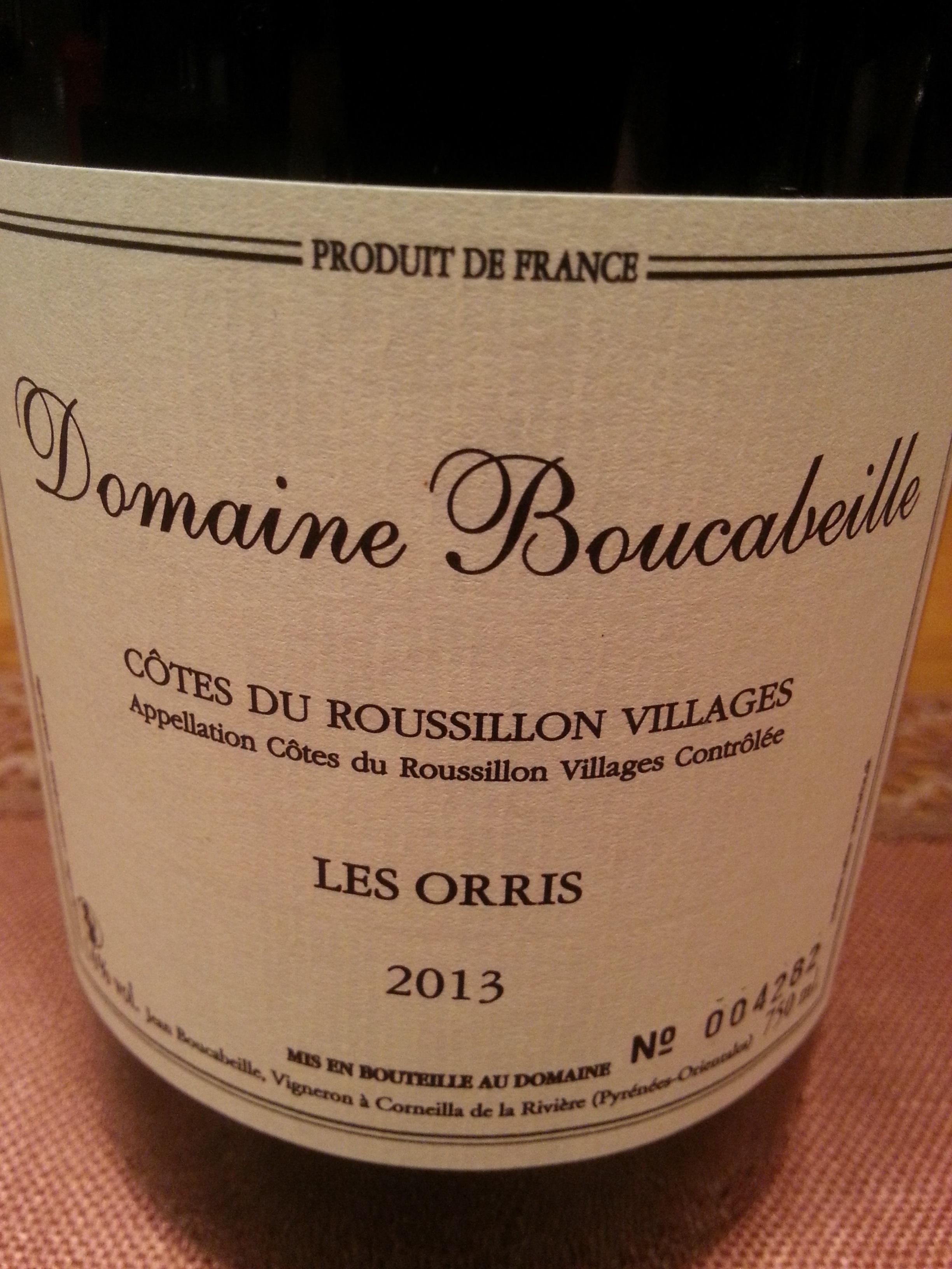2013 Les Orris | Boucabeille