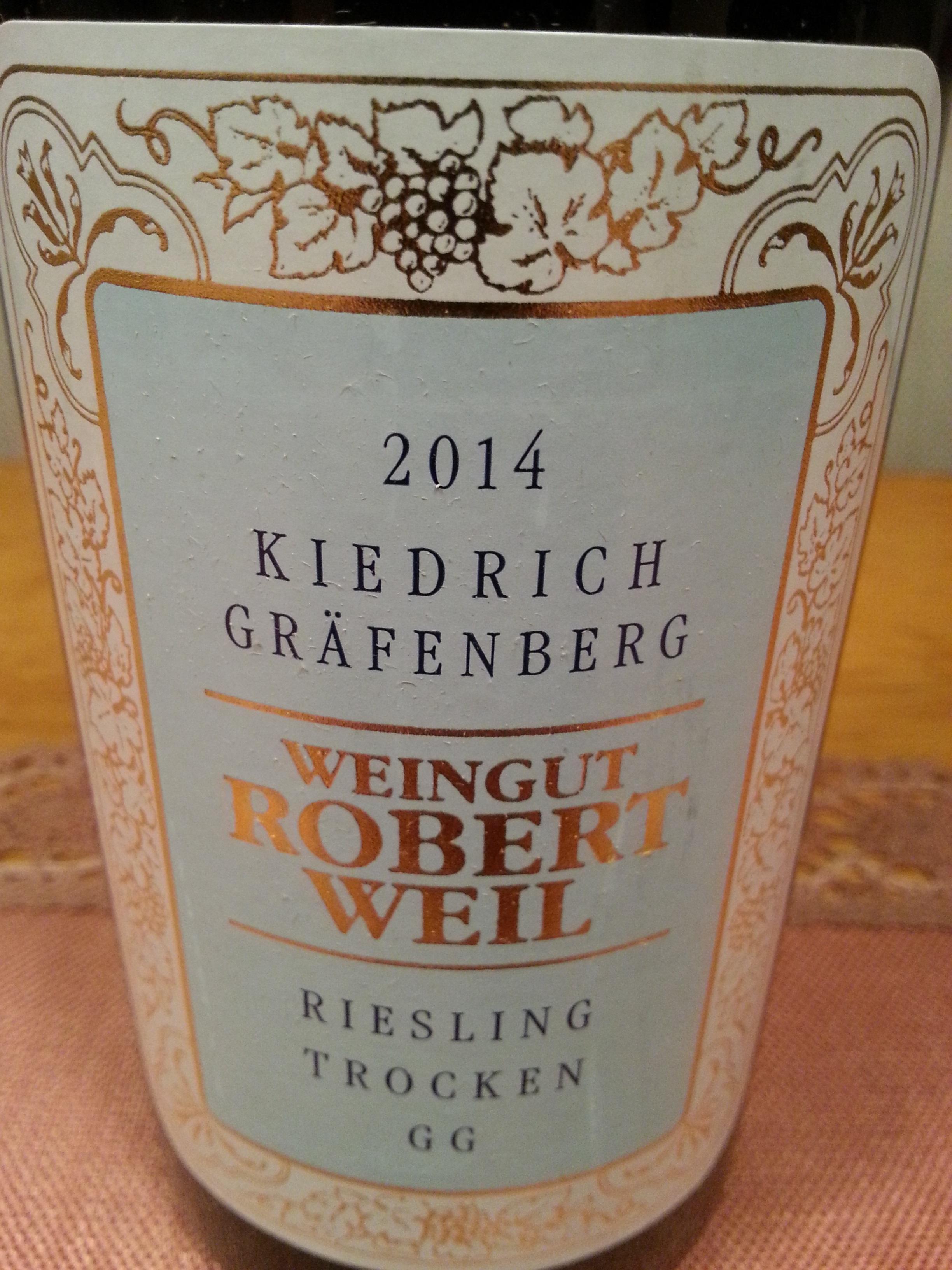 2014 Riesling Kiedricher Gräfenberg GG | Weil
