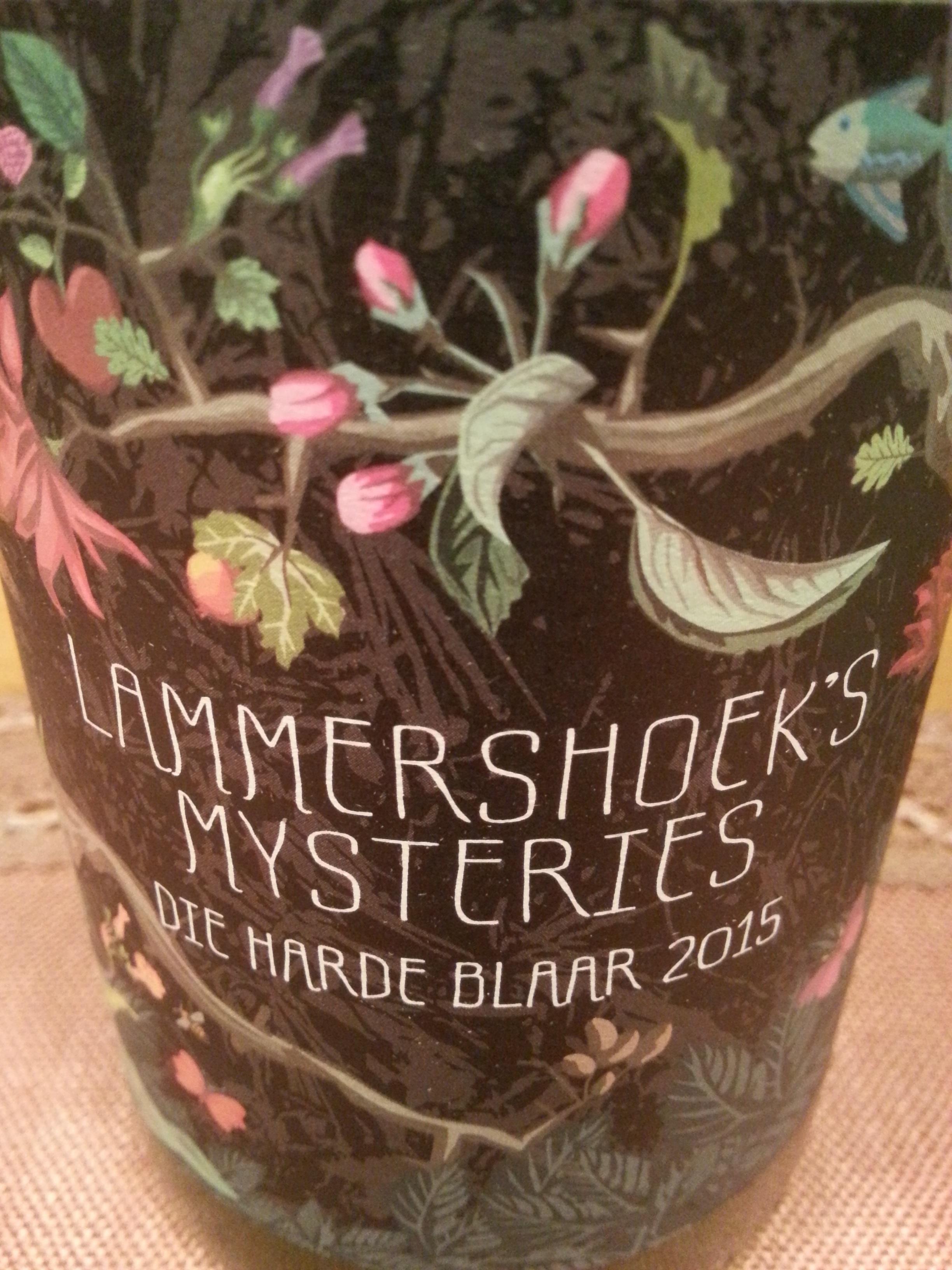 2015 Mysteries Die Harde Blaar | Lammershoek