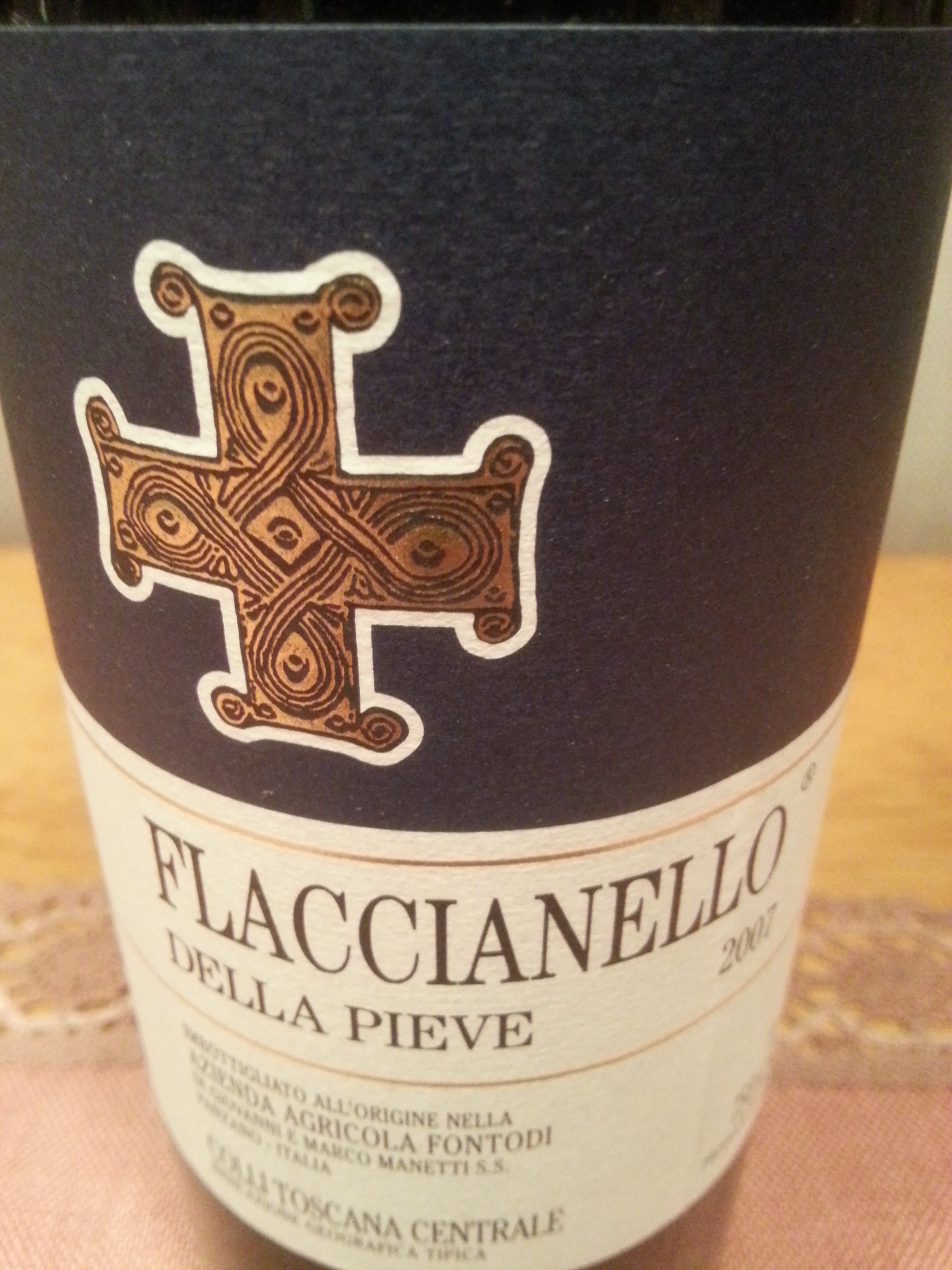 2007 Flaccianello   Fontodi