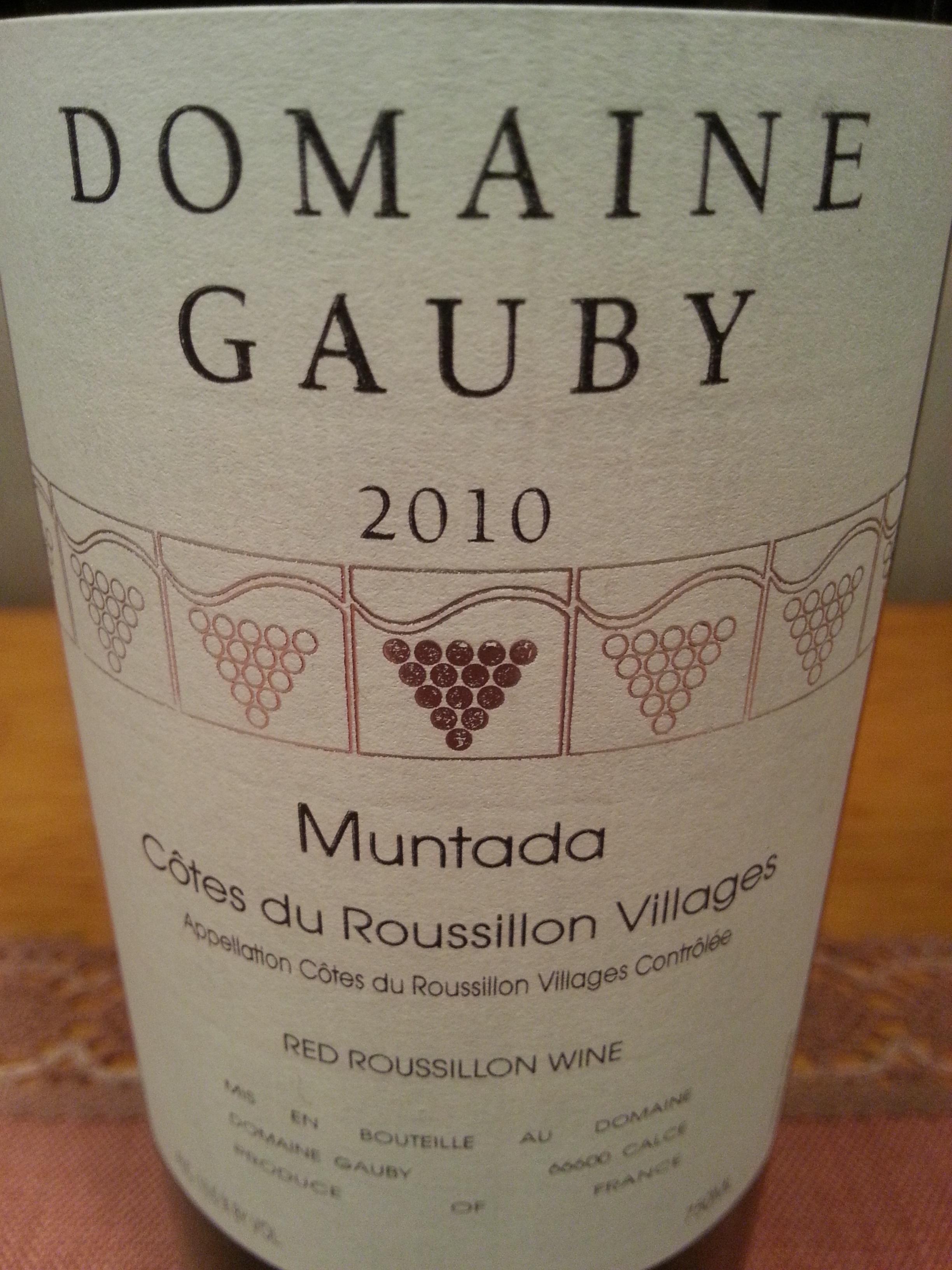 2010 Muntada | Domaine Gauby