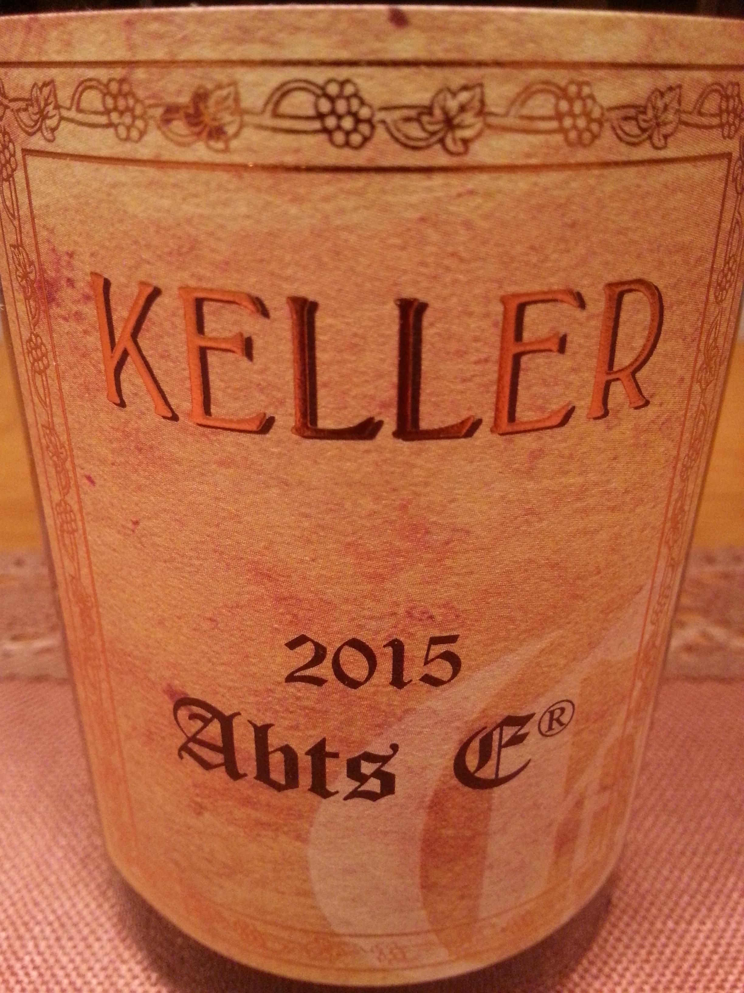 2015 Riesling Abtserde GG   Keller