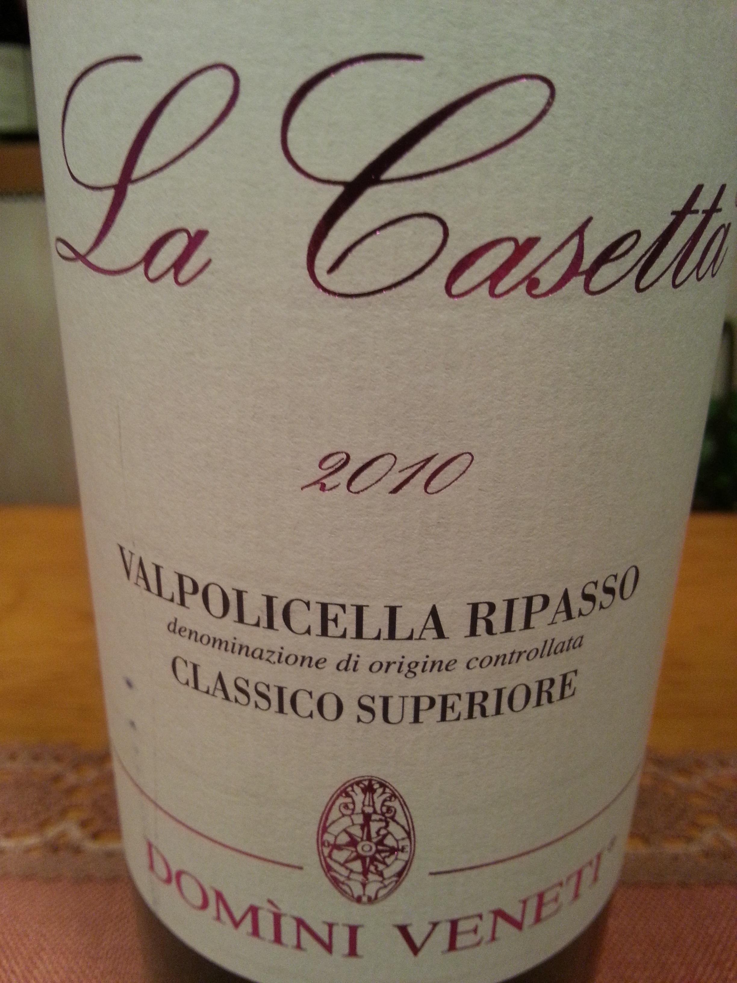 2010 Ripasso La Casetta | Domini Veneti