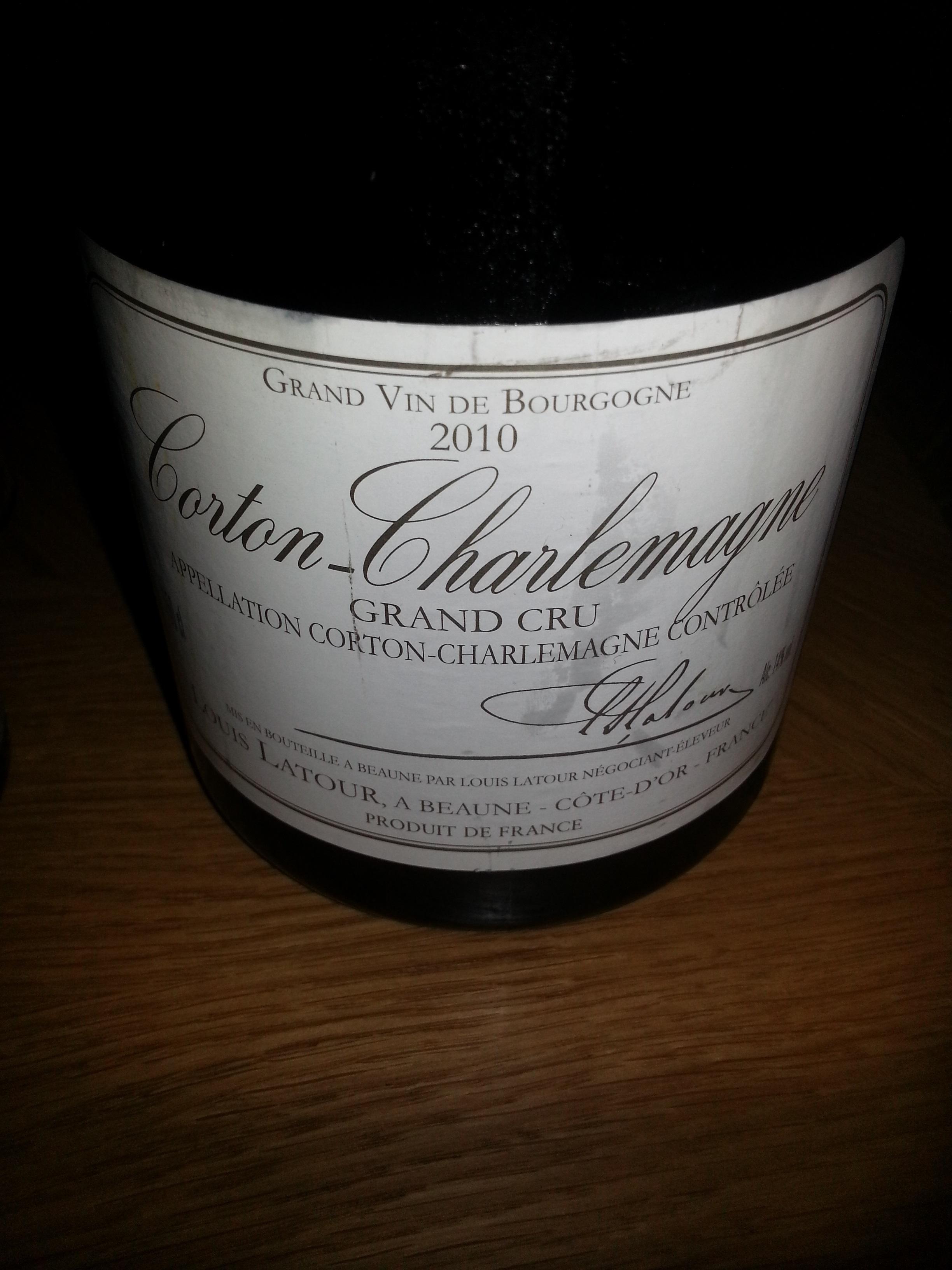 2010 Corton Charlemagne G.C. | Latour