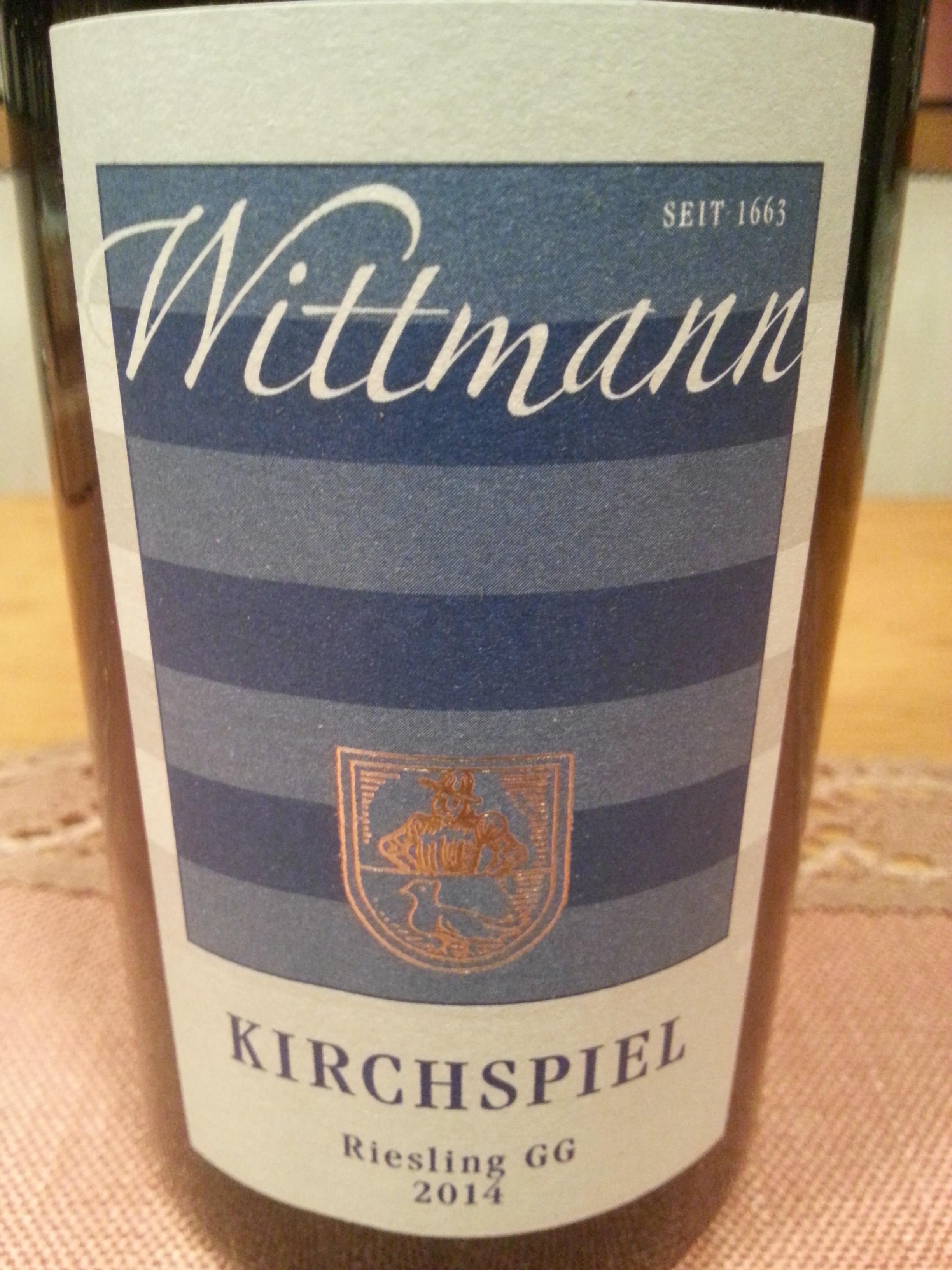 2014 Riesling Westhofen Kirchspiel GG | Wittmann
