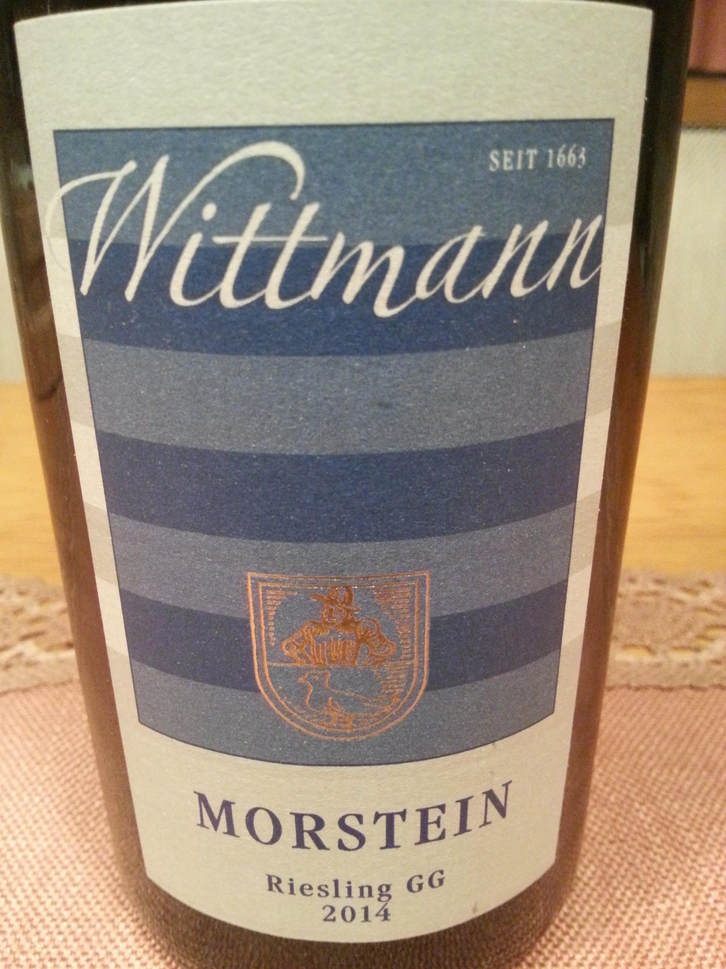 2014 Riesling Westhofen Morstein GG | Wittmann