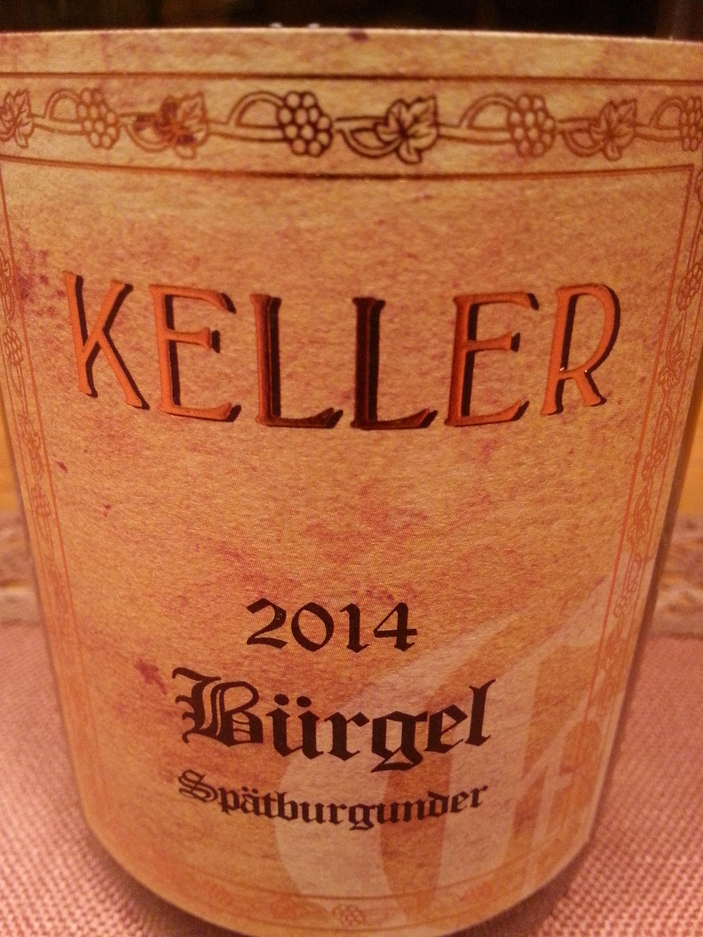 2014 Spätburgunder Dalsheim Bürgel GG | Keller