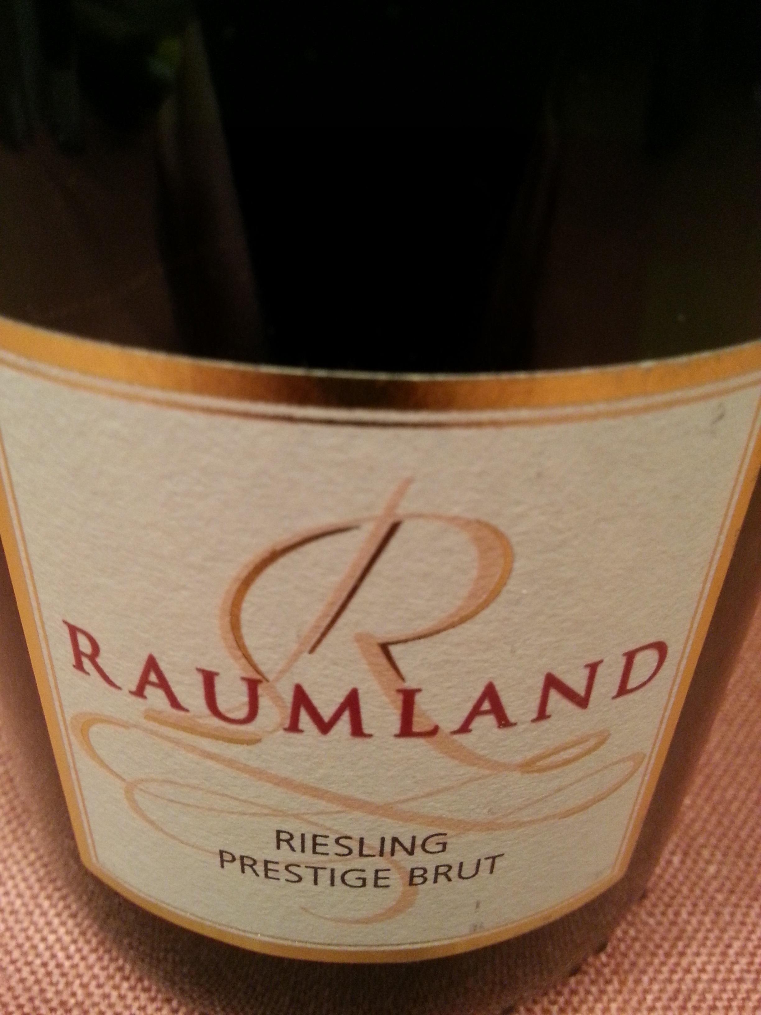 -nv- Riesling Prestige brut   Raumland