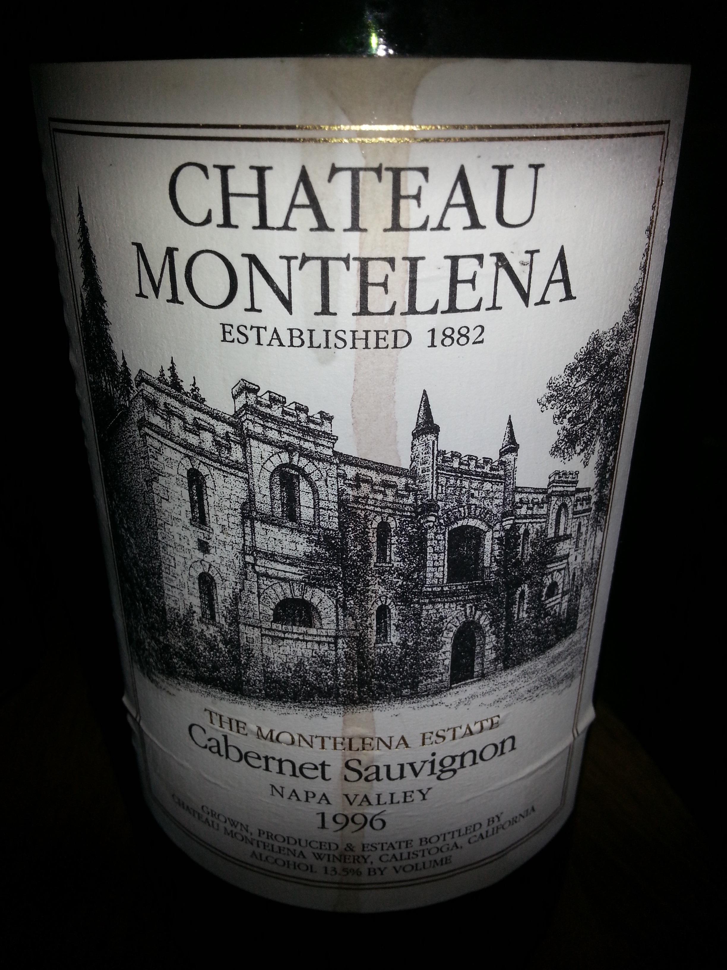 1996 Chateau Montelena Estate Cabernet Sauvignon | Chateau Montelena