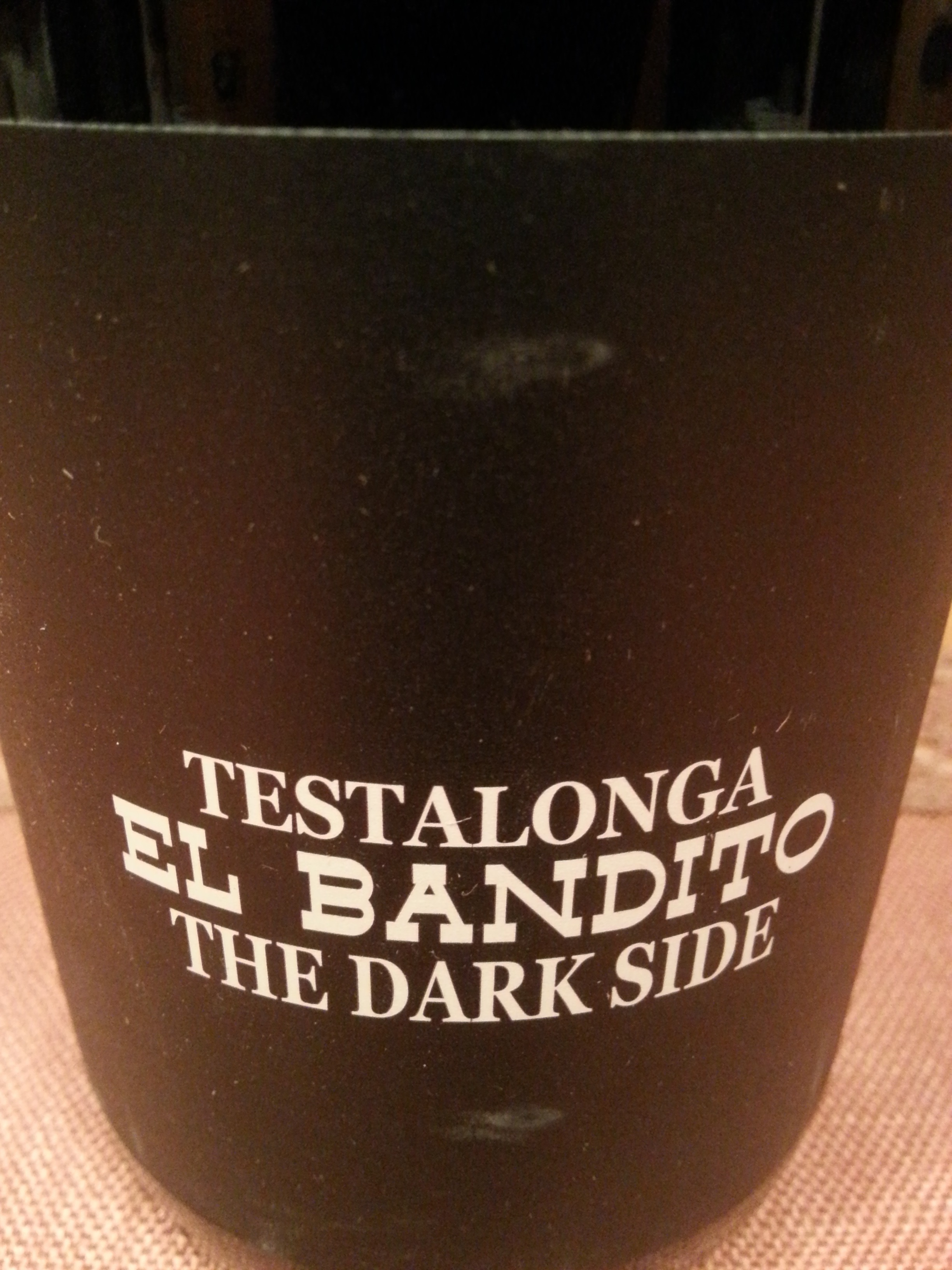 2016 El Bandito The Dark Side | Testalonga