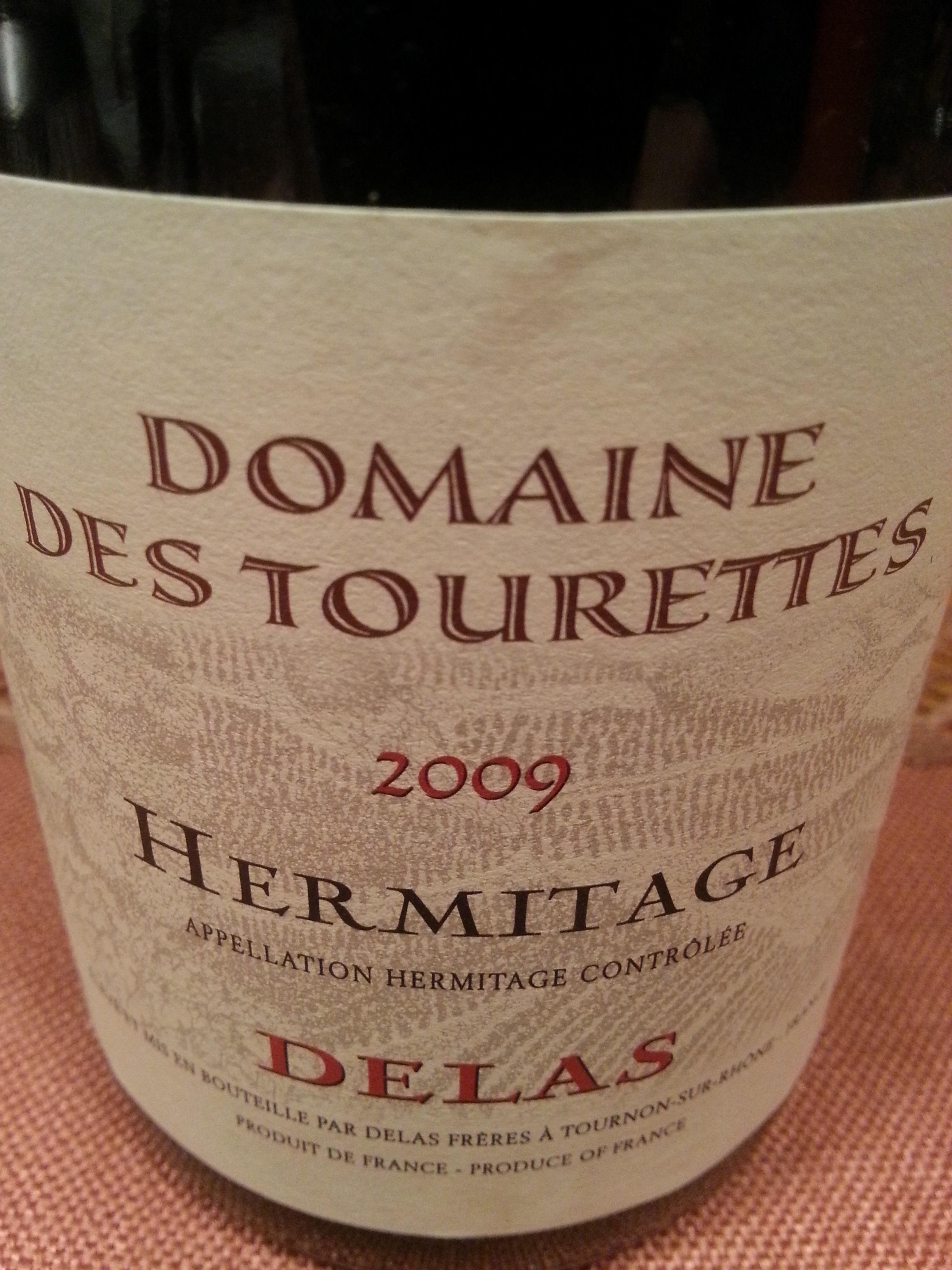 2009 Hermitage Domaine de la Tourette   Delas