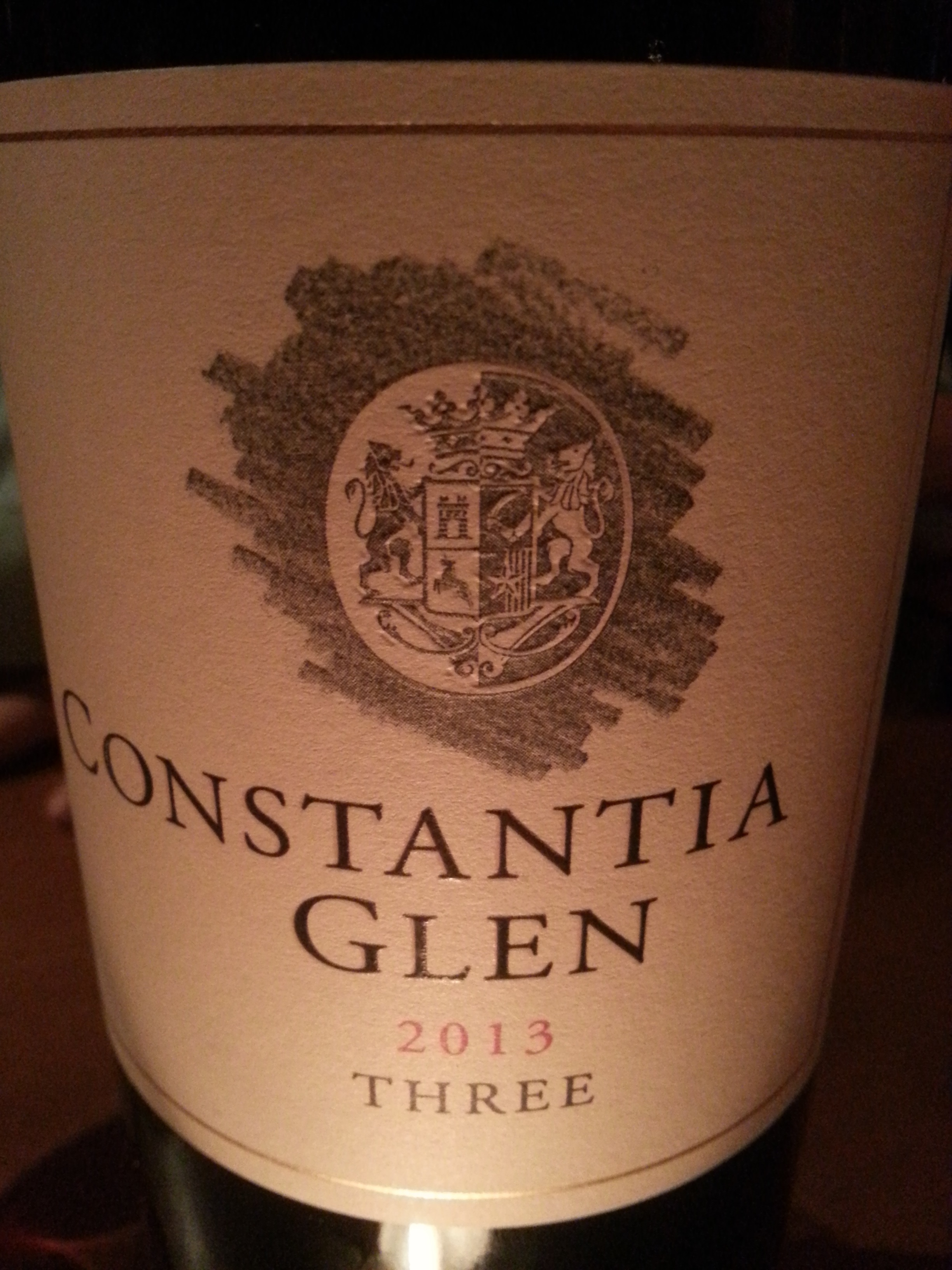 2013 Constantia Glenn Three | Constantia Glenn