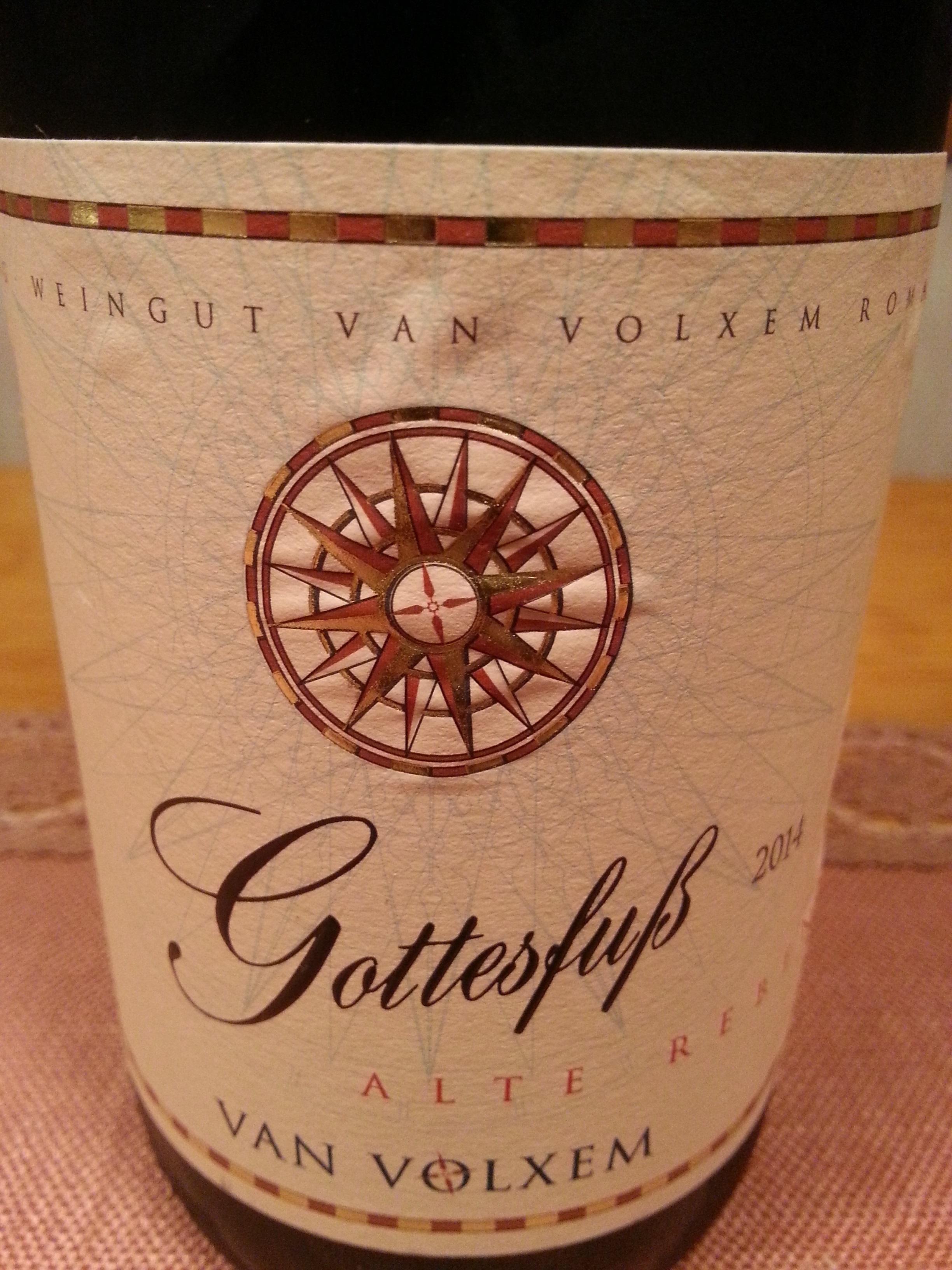 2014 Riesling Alte Reben Gottesfuß GG | Van Volxem