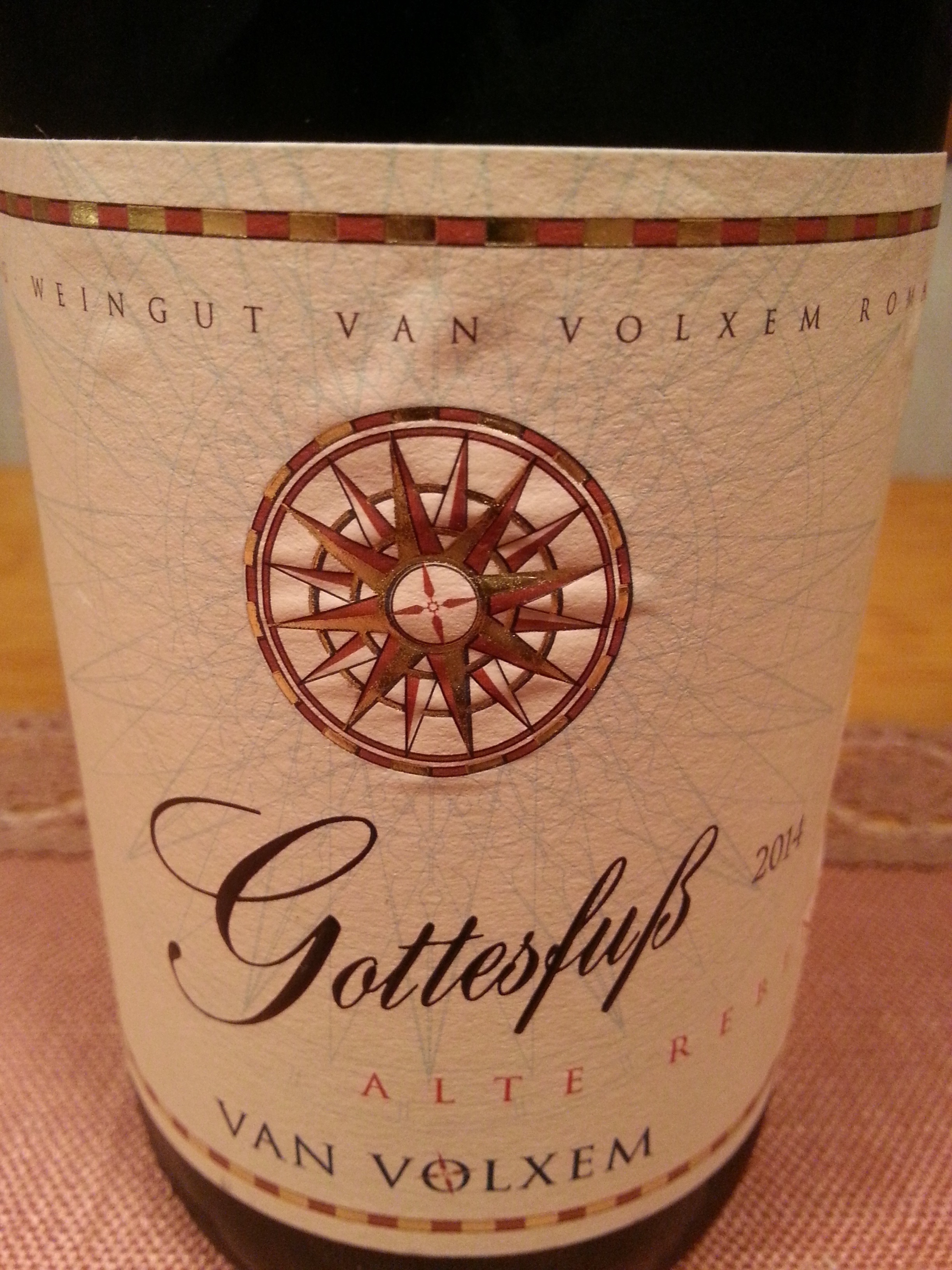 2014 Riesling Alte Reben Gottesfuß GG   Van Volxem