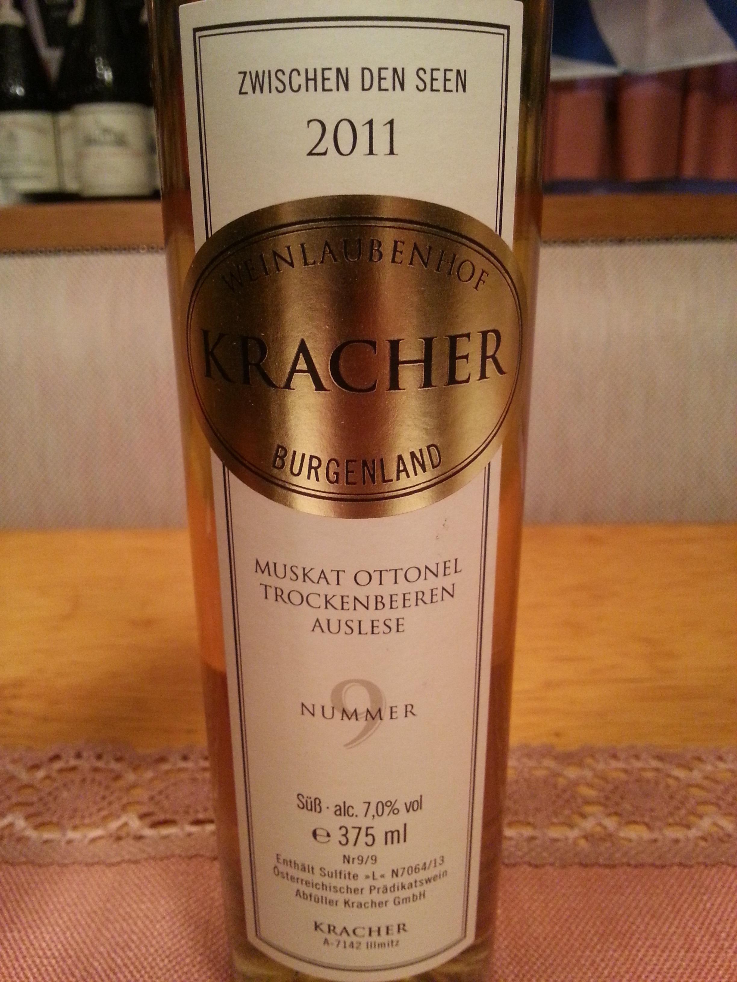 2011 Muskat Ottonel TBA No. 9 ZdS   Kracher