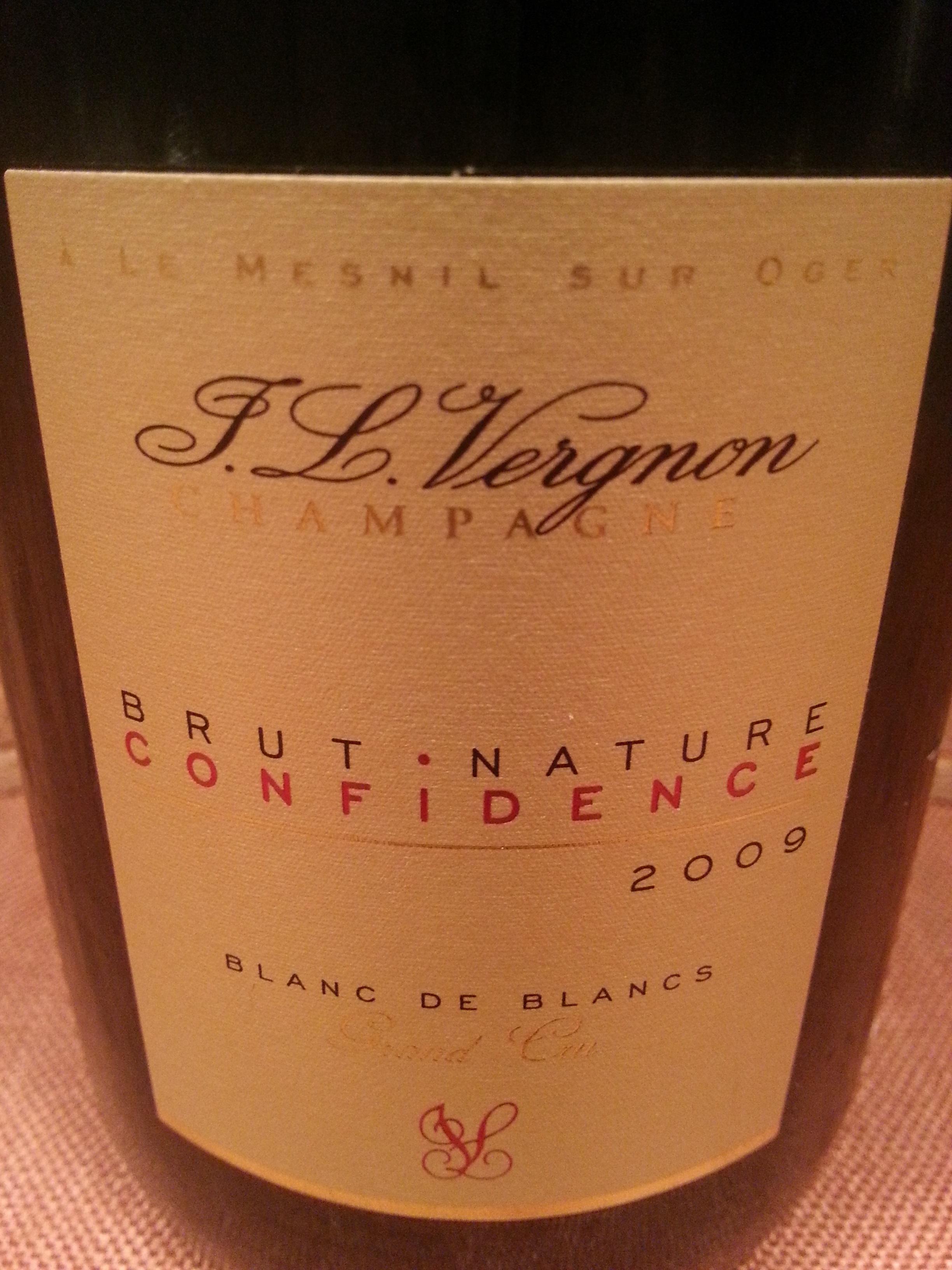 2009 Champagne F. L. Vergnon Confidence Brut Nature Grand Cru | F. L. Vergnon