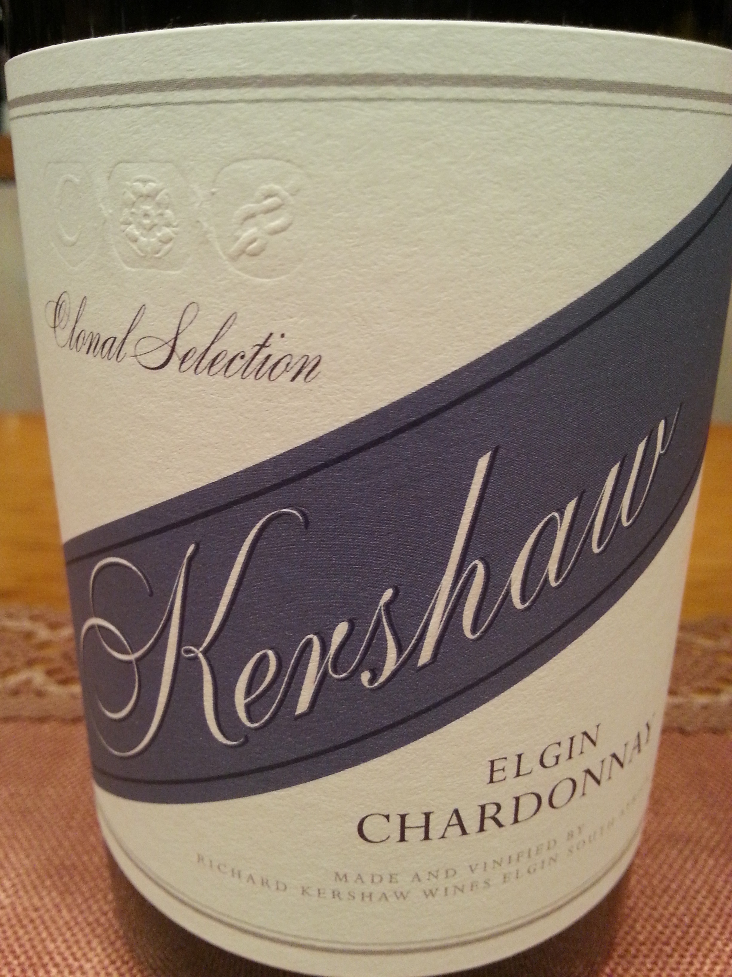 2014 Chardonnay Clonal Selection | Kershaw