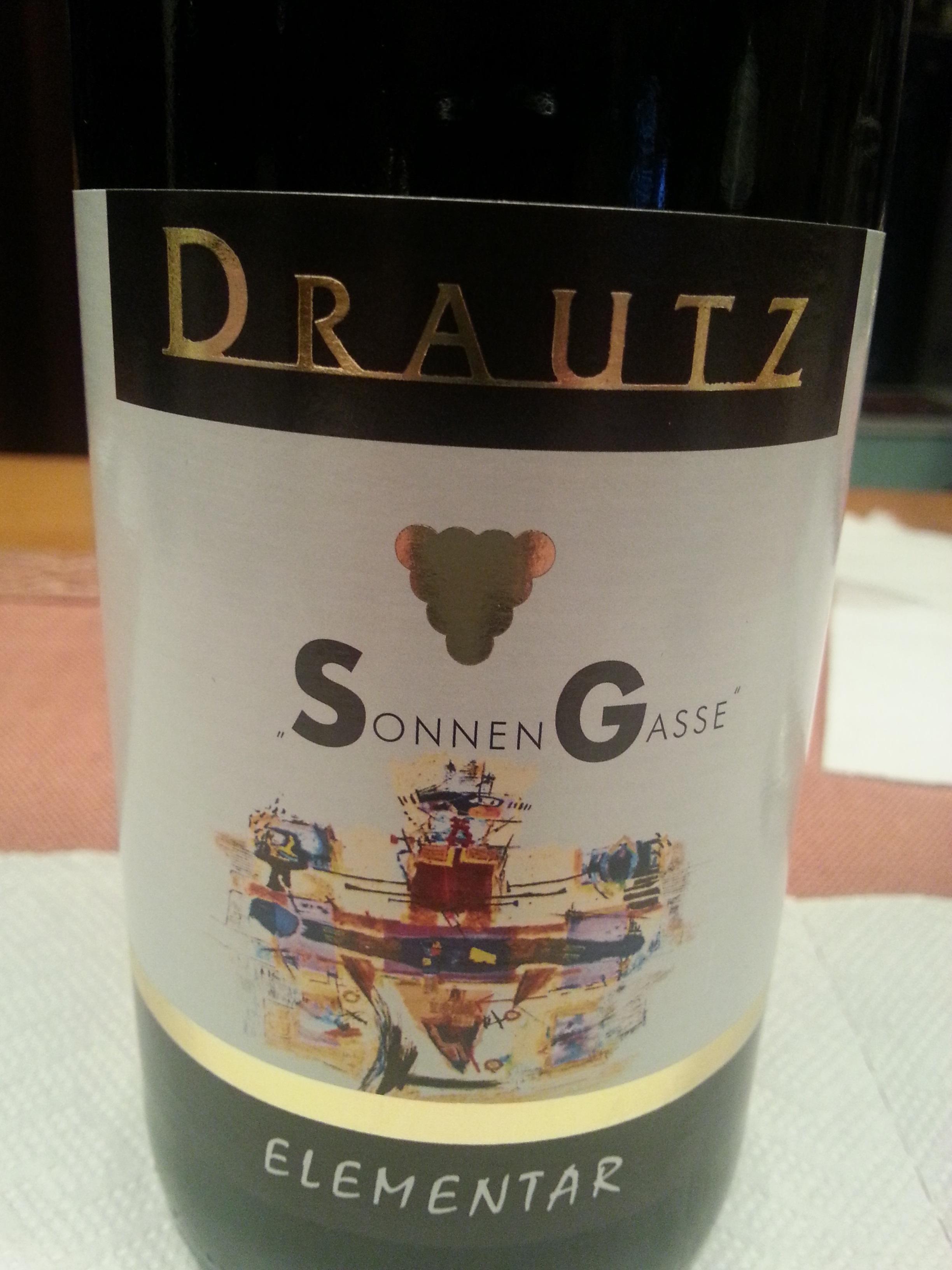 2016 Souvignier Gris Sonnengasse | Drautz