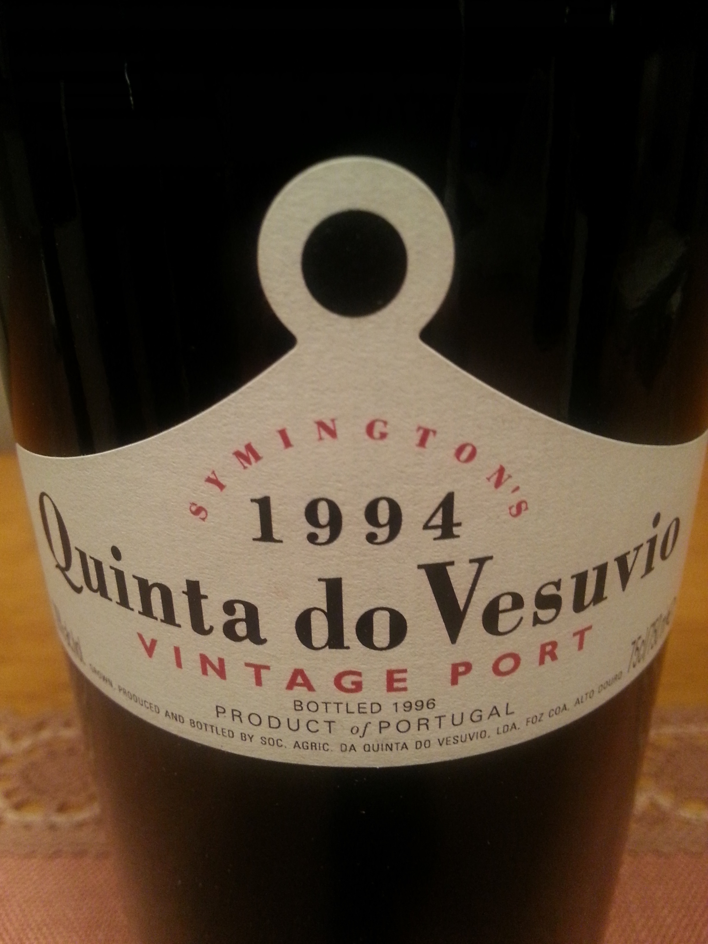 1994 Vintage Port | Quinta do Vesuvio