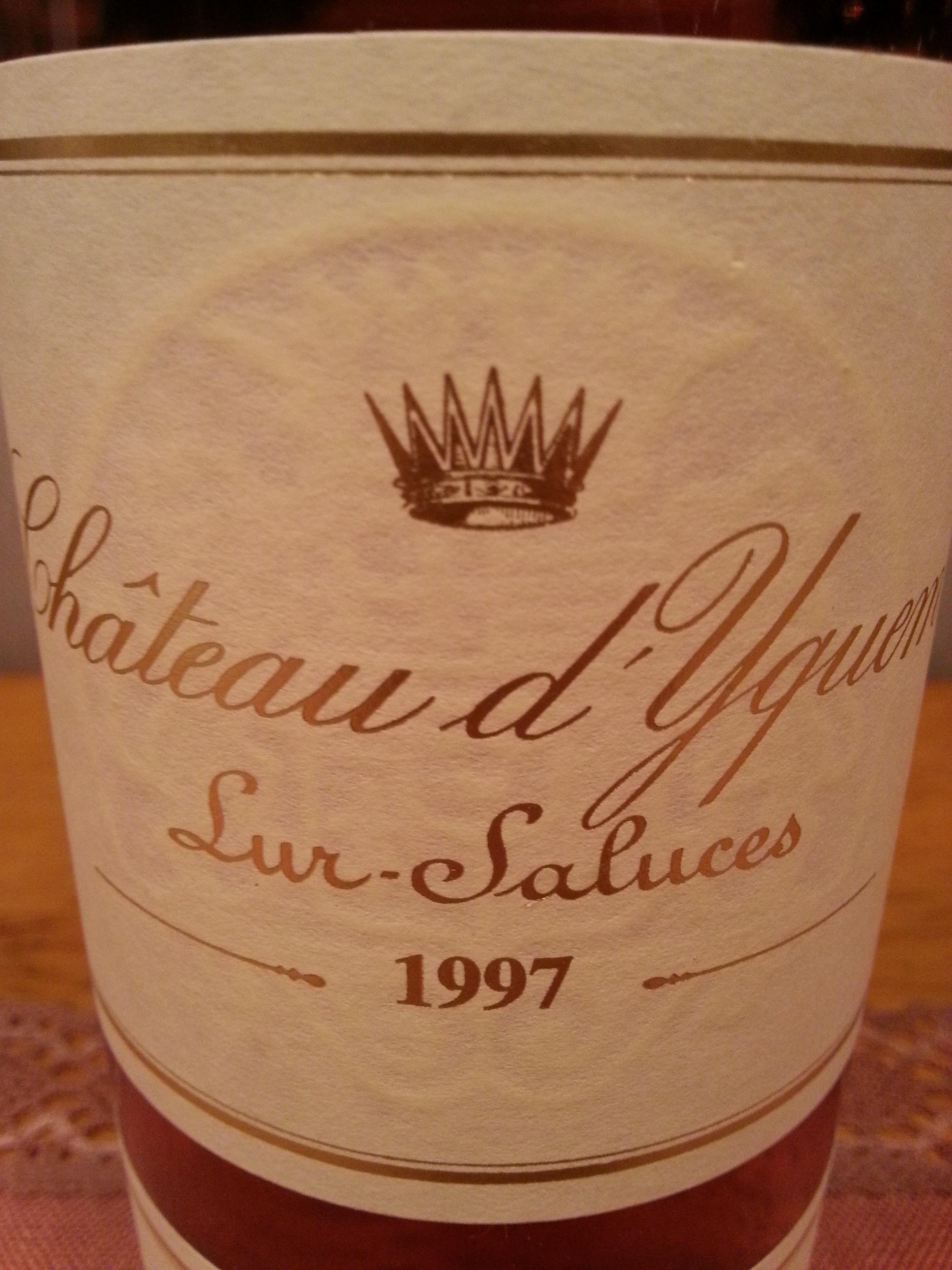 1997 Yquem | Château d'Yquem