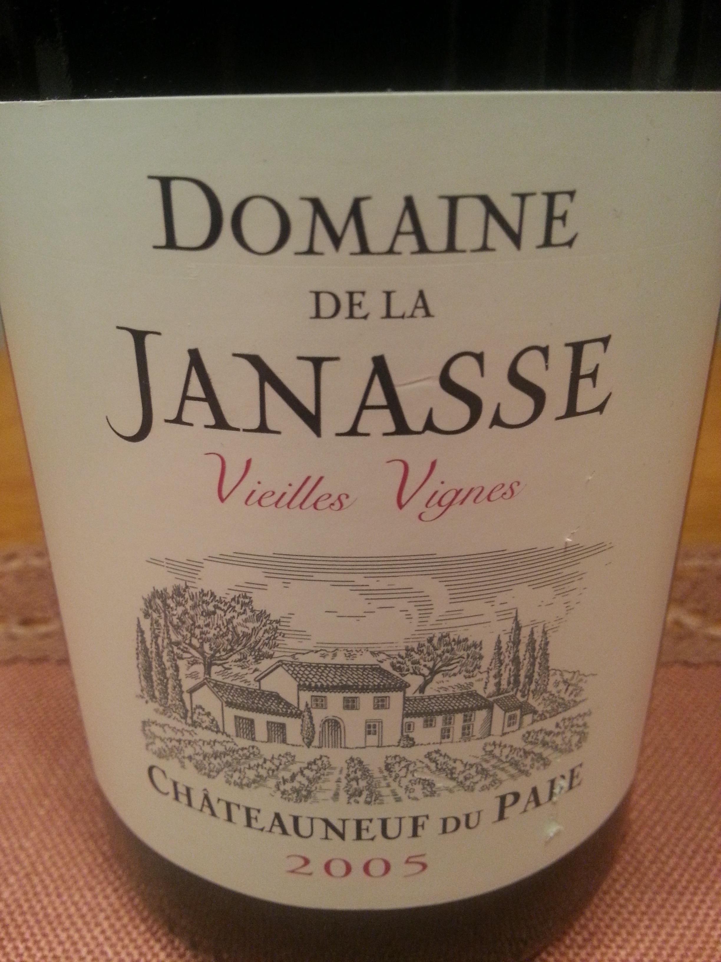 2005 Châteauneuf-du-Pape Vieilles Vignes | Janasse