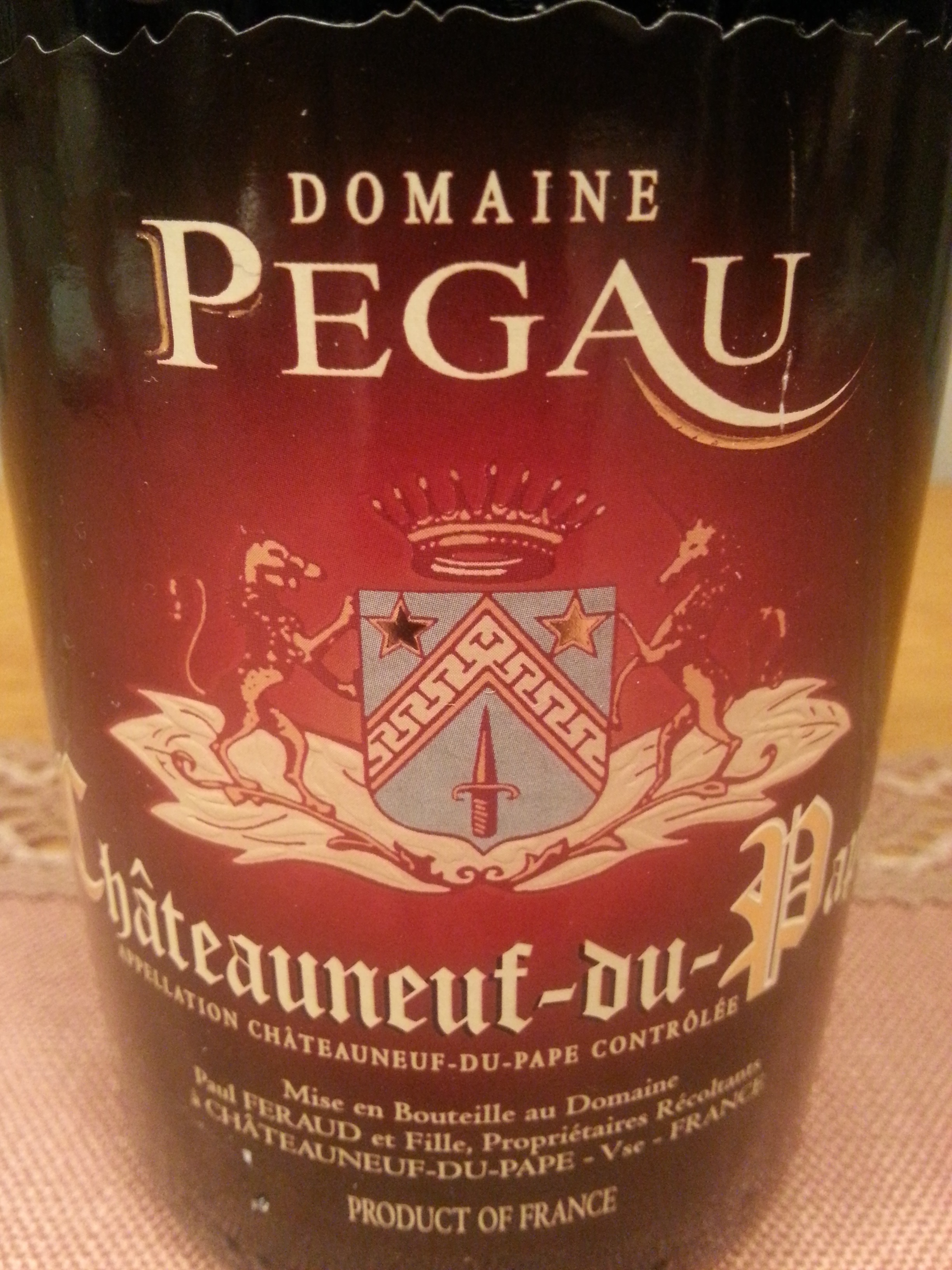 2007 Cuvée da Capo Châteauneuf-du-Pape | Pégau