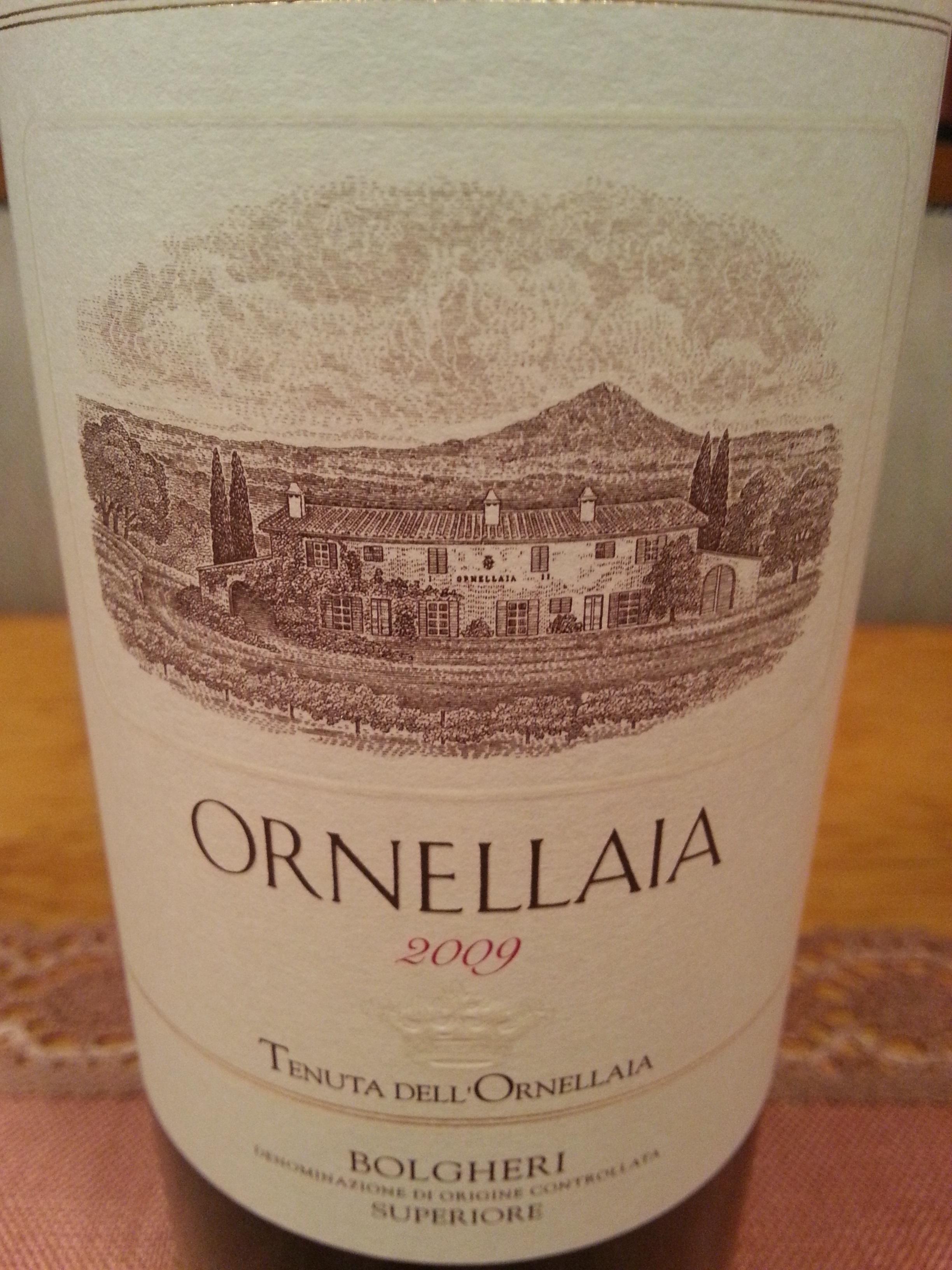 2009 Ornellaia | Tenuta dell'Ornellaia